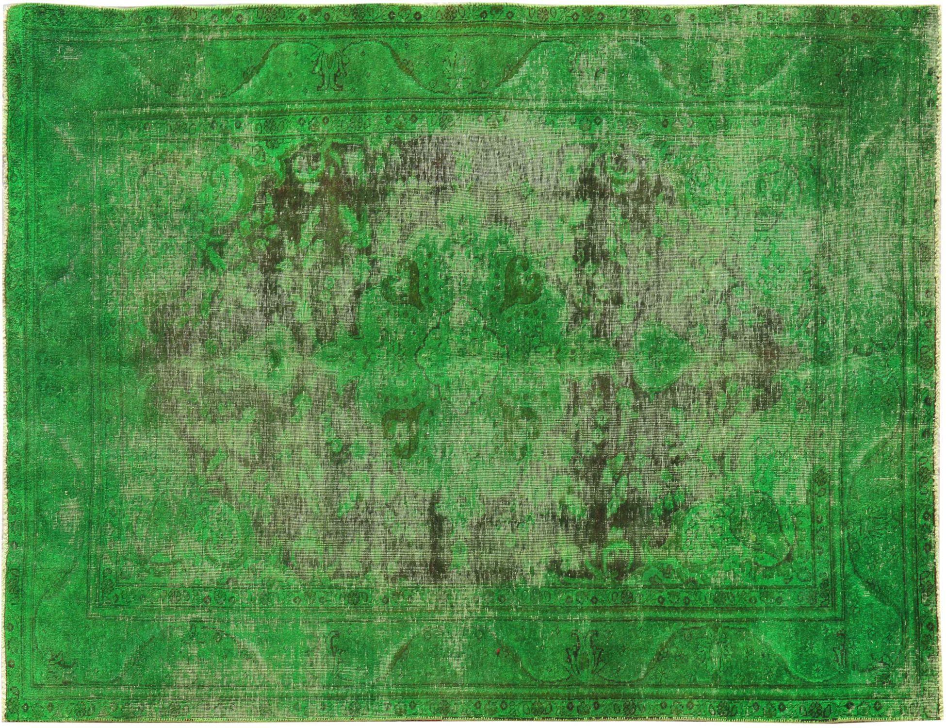Vintage Teppich  grün <br/>295 x 182 cm