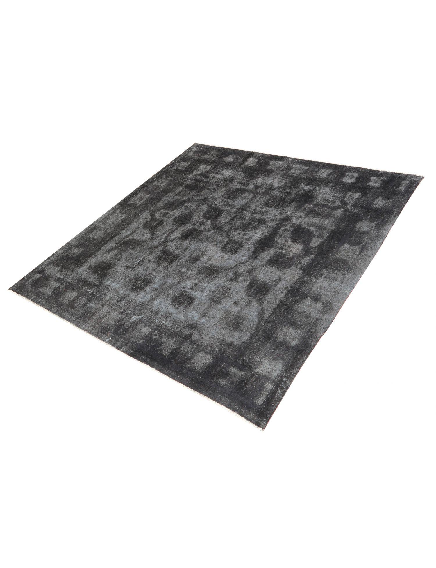Vintage Teppich  schwarz <br/>282 x 291 cm