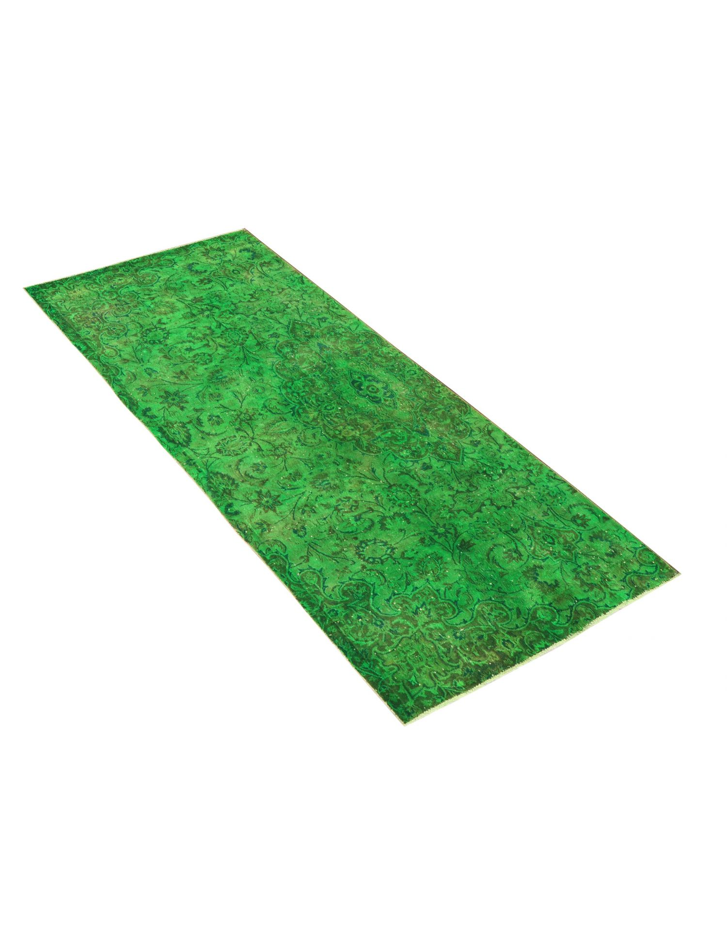 Vintage Teppich  grün <br/>283 x 133 cm