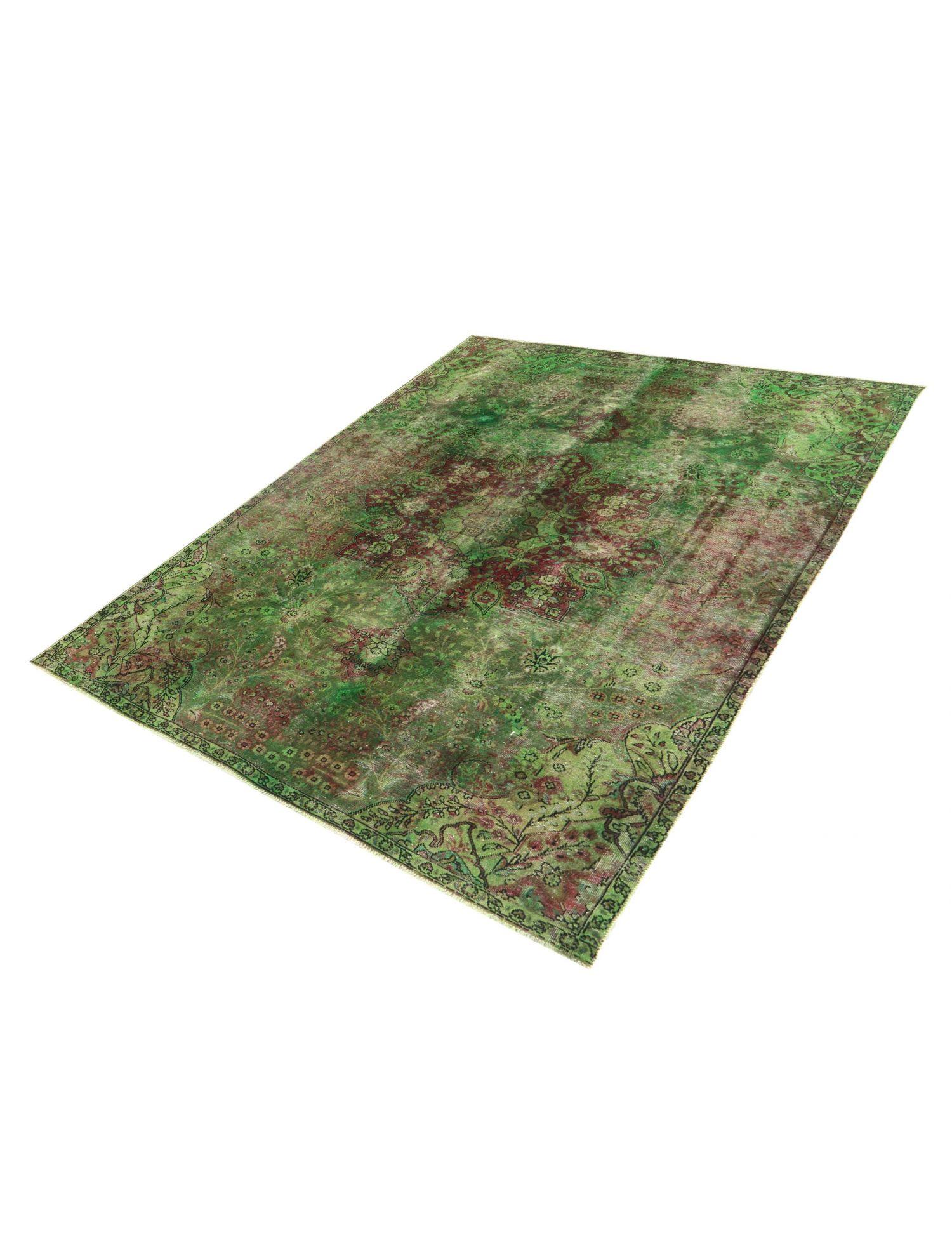Vintage Teppich  grün <br/>320 x 225 cm