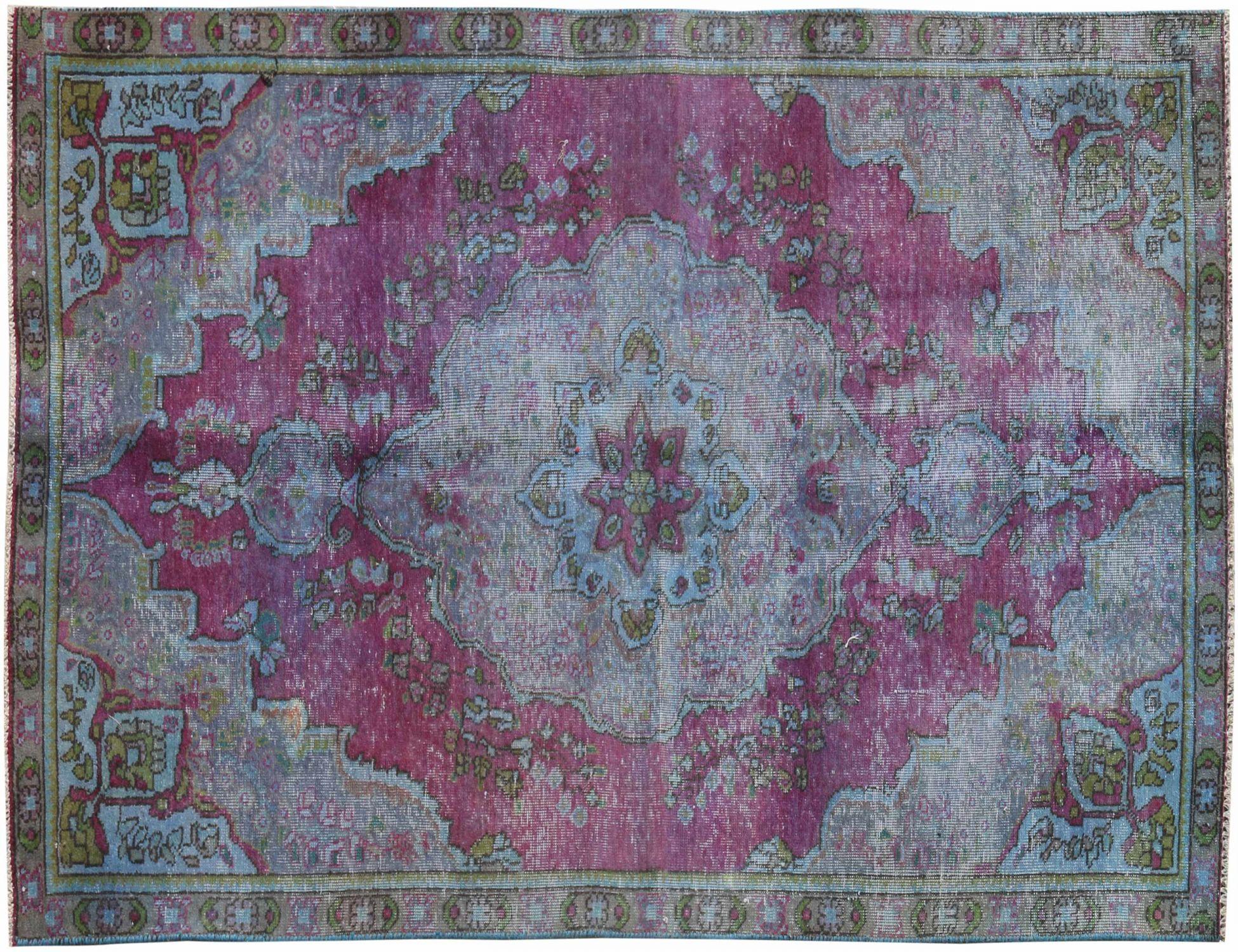 Tappeto Vintage  blu <br/>237 x 137 cm