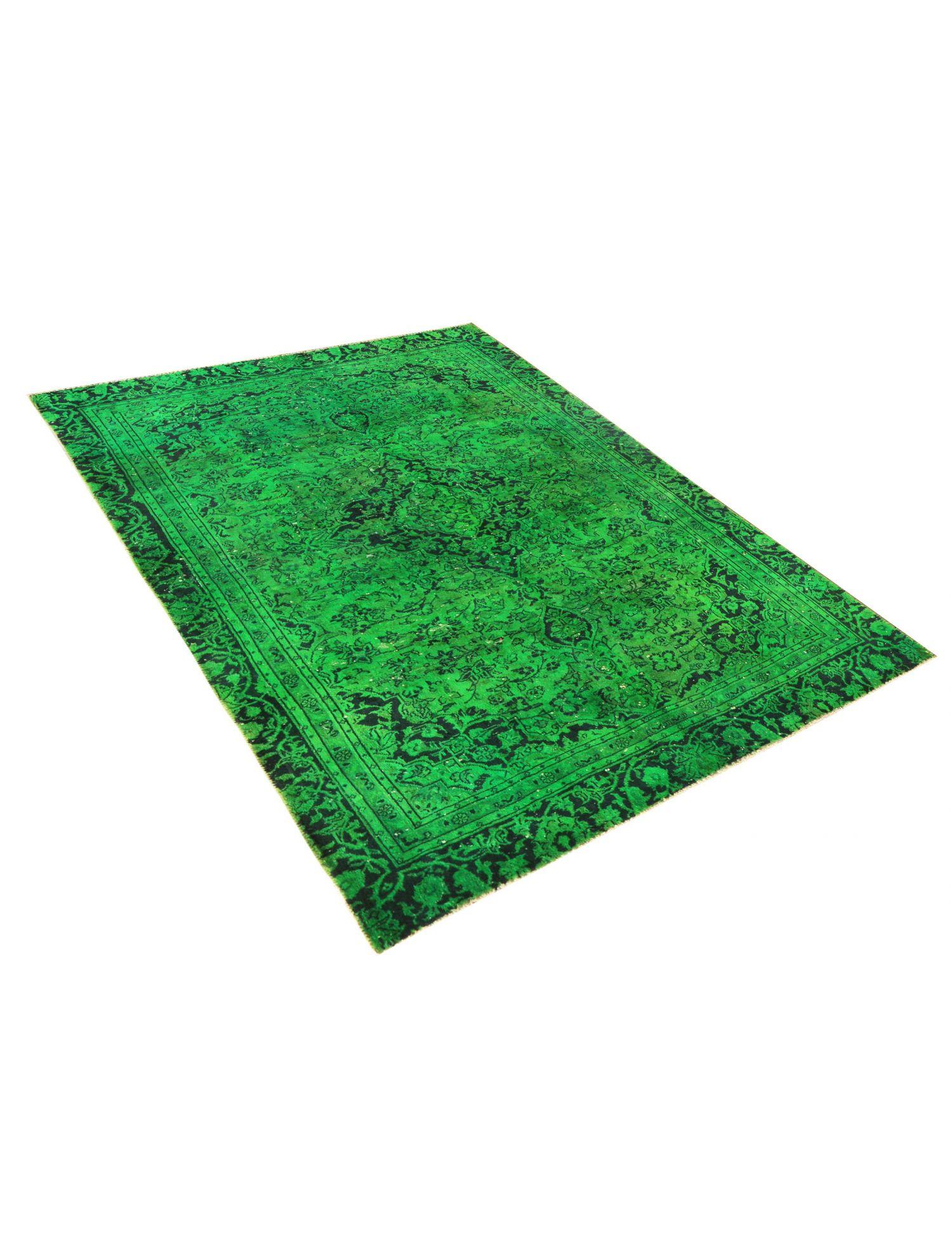 Vintage Teppich  grün <br/>250 x 173 cm