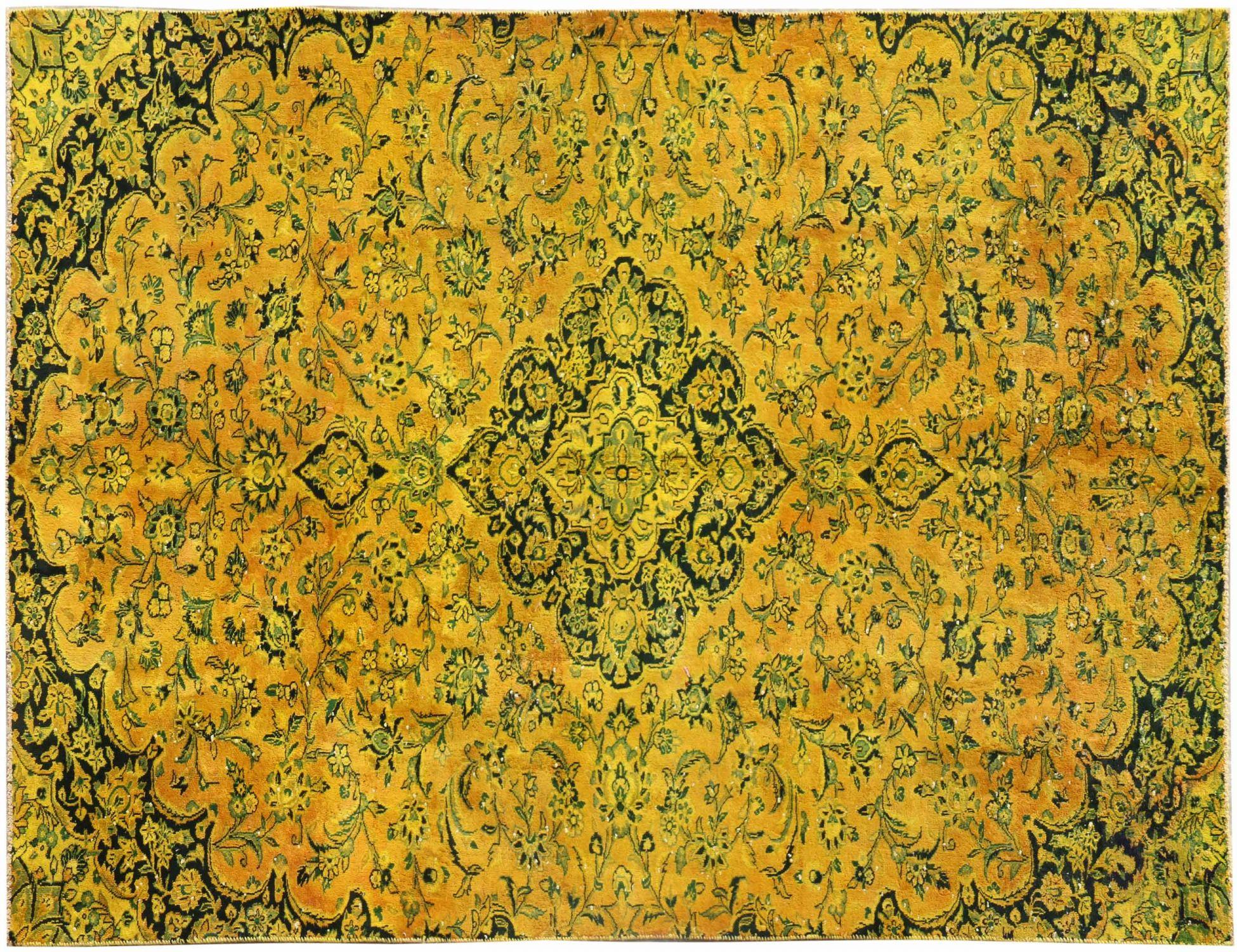 Vintage Teppich  gelb <br/>292 x 183 cm