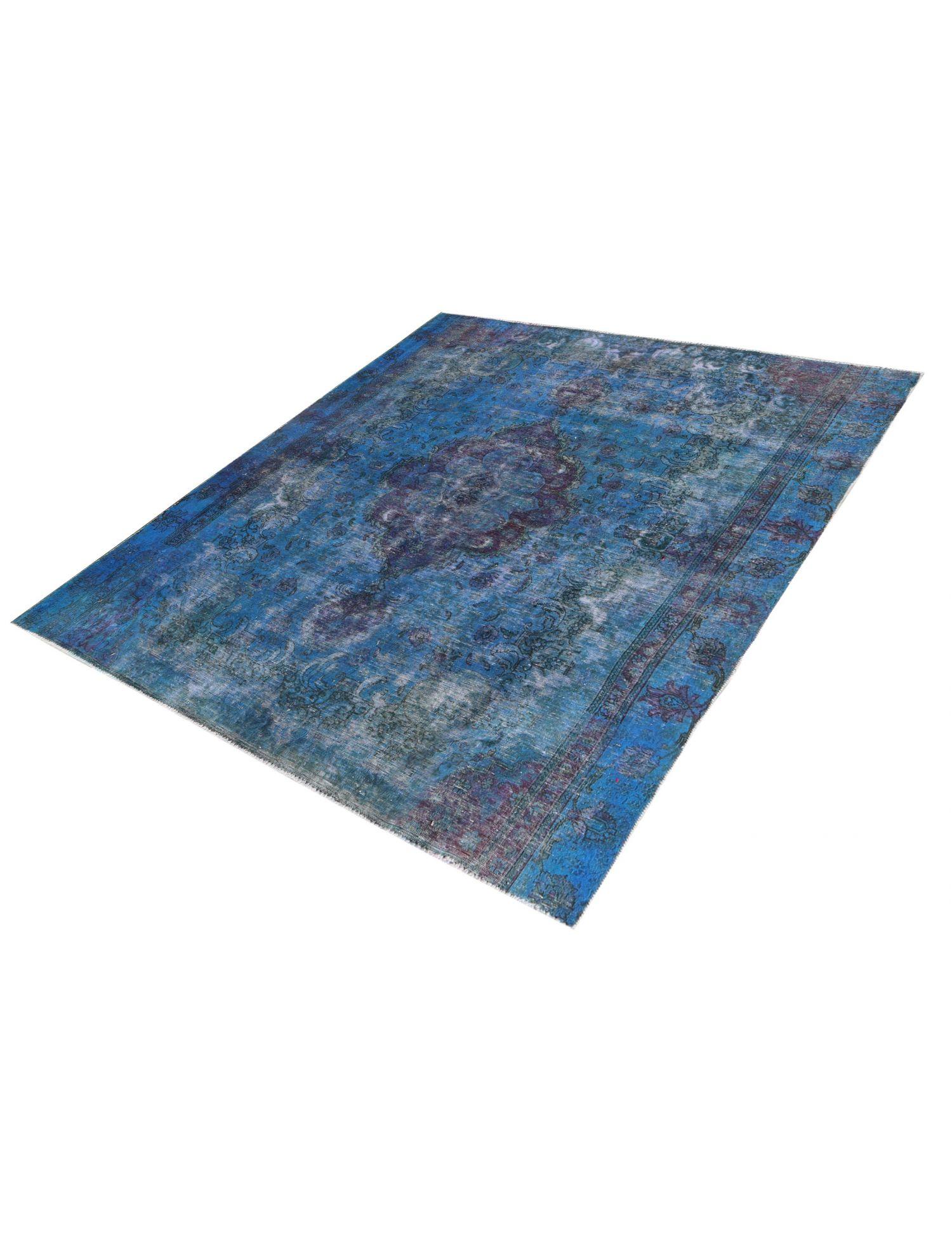 Vintage Teppich  blau <br/>283 x 254 cm