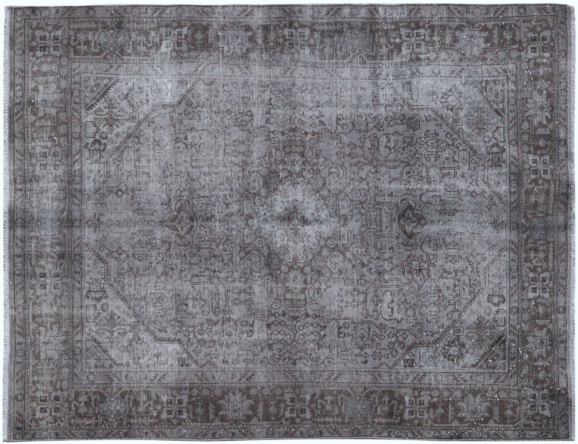 Vintage Teppich  grau <br/>282 x 196 cm