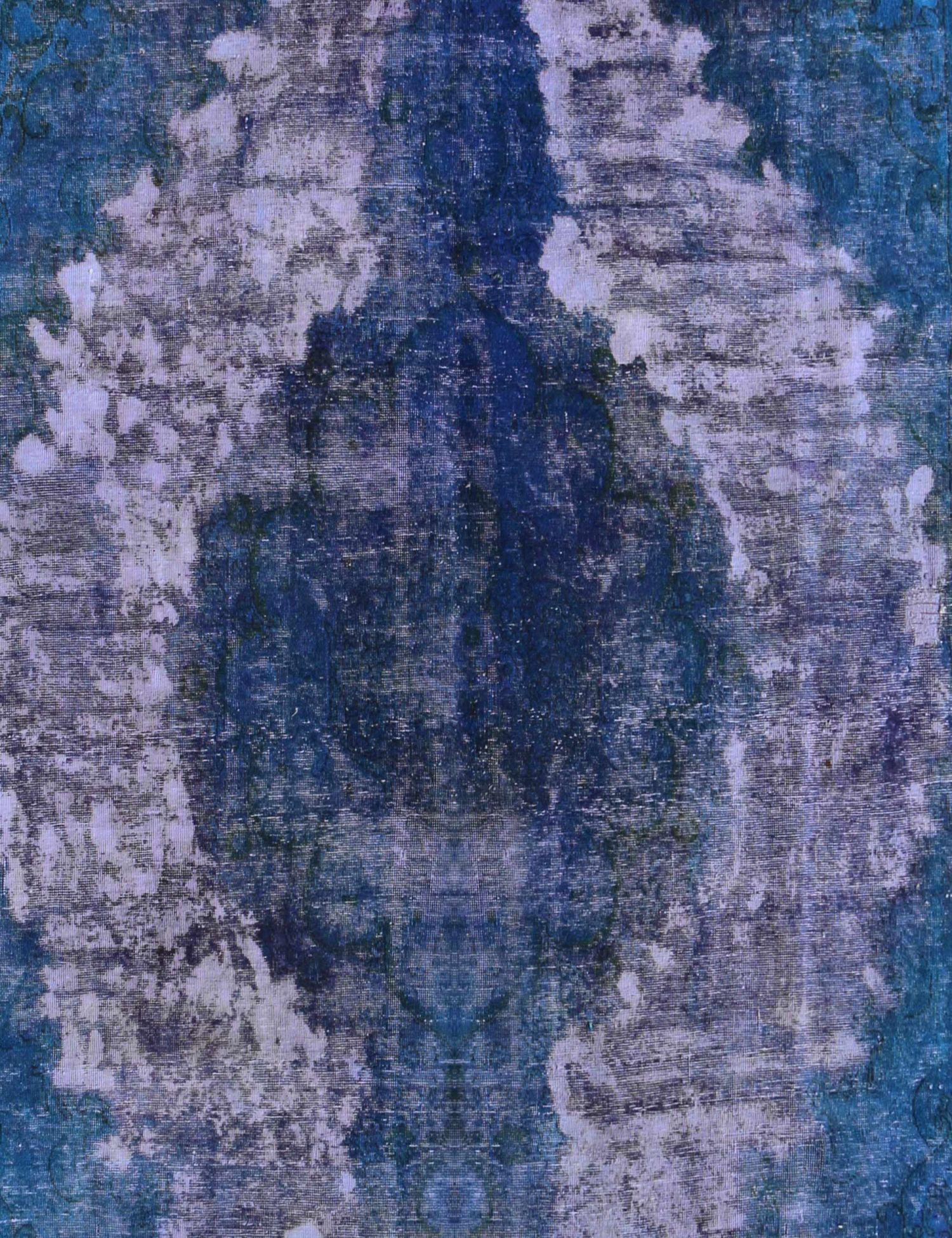 Vintage Teppich  blau <br/>385 x 289 cm