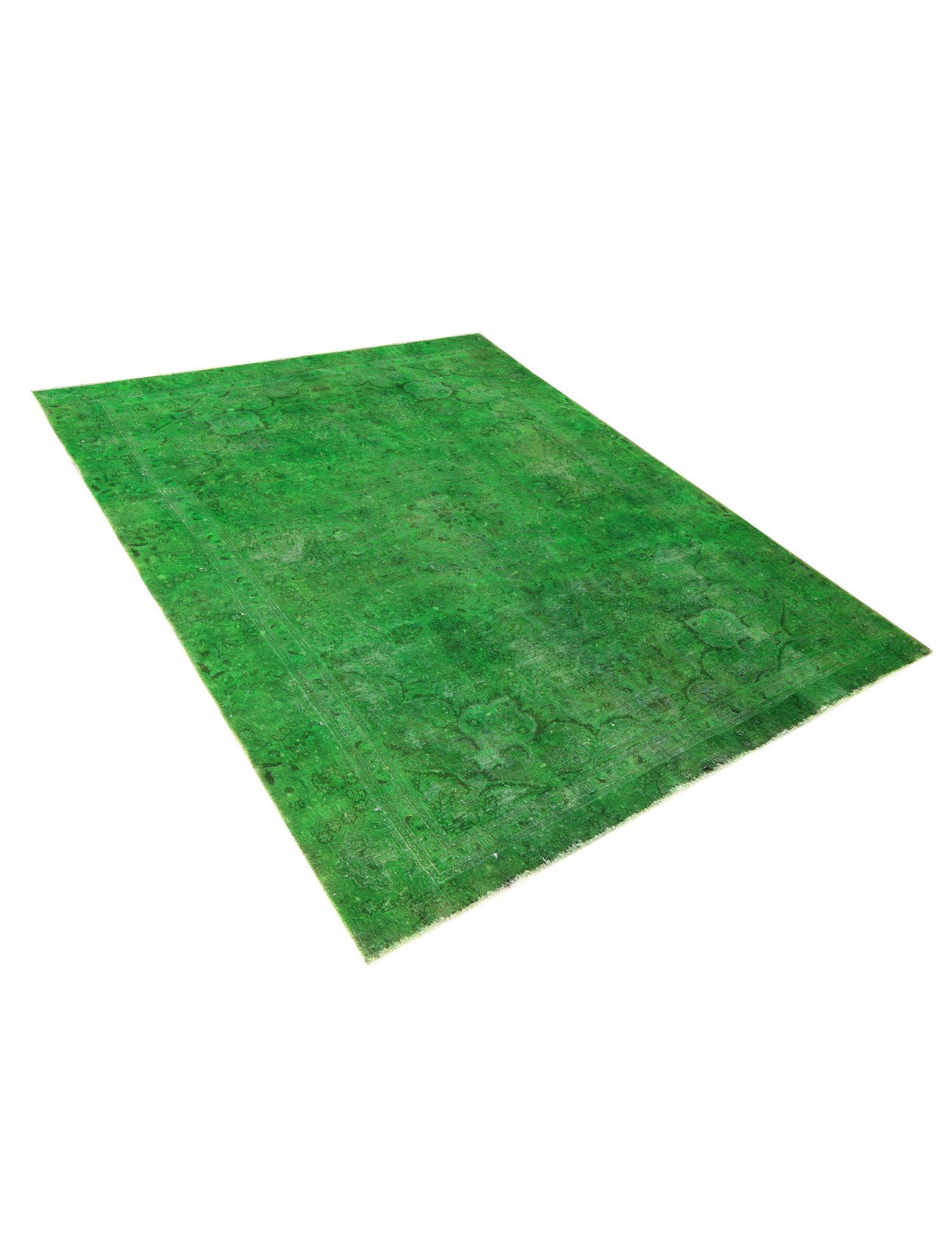 Vintage Teppich  grün <br/>313 x 233 cm