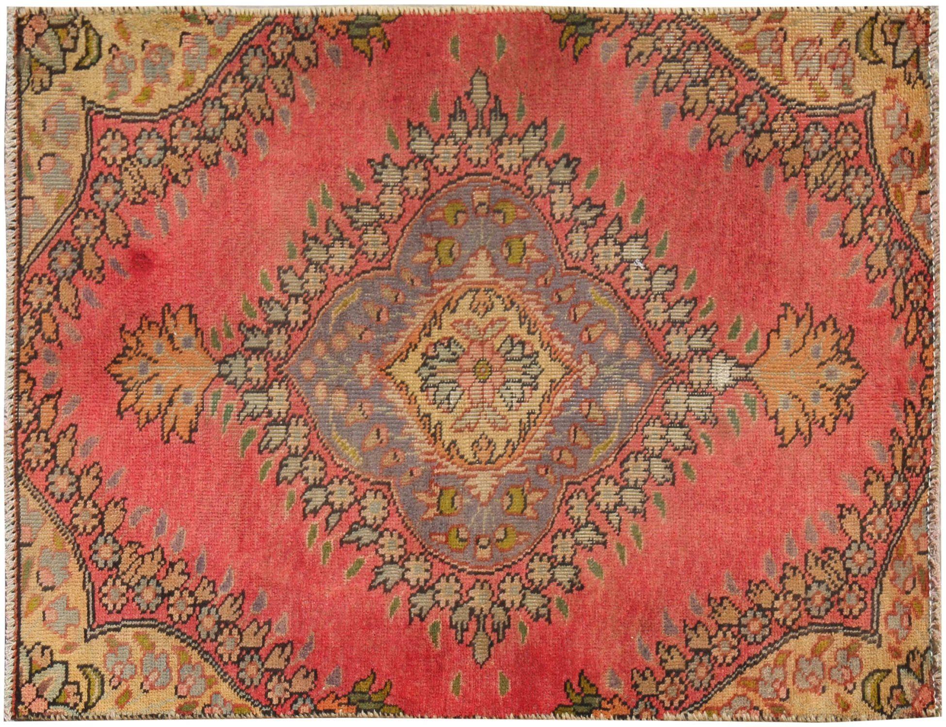 Retro Perserteppich  rot <br/>122 x 77 cm