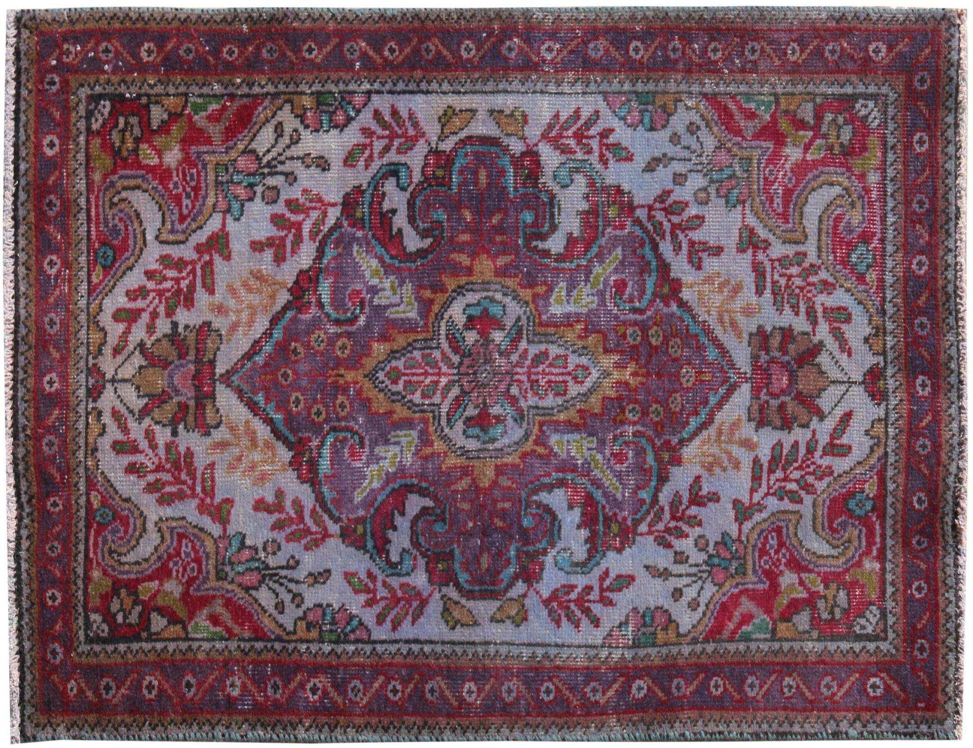 Vintage Teppich  blau <br/>153 x 93 cm