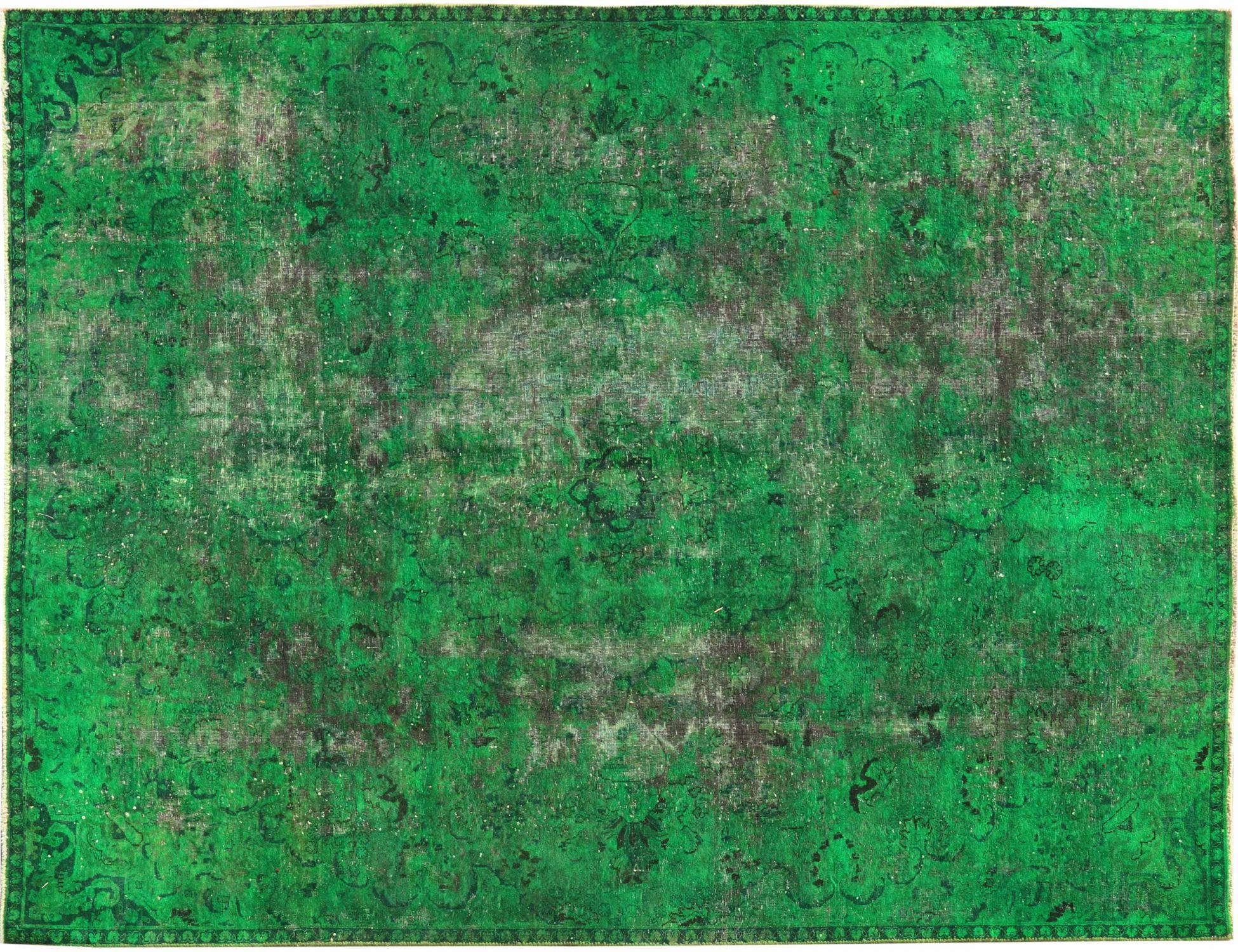Tappeto Vintage  verde <br/>290 x 204 cm
