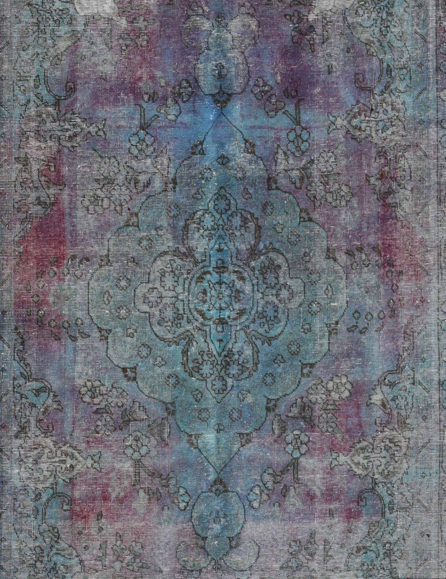 Tappeto Vintage  turchese <br/>281 x 196 cm