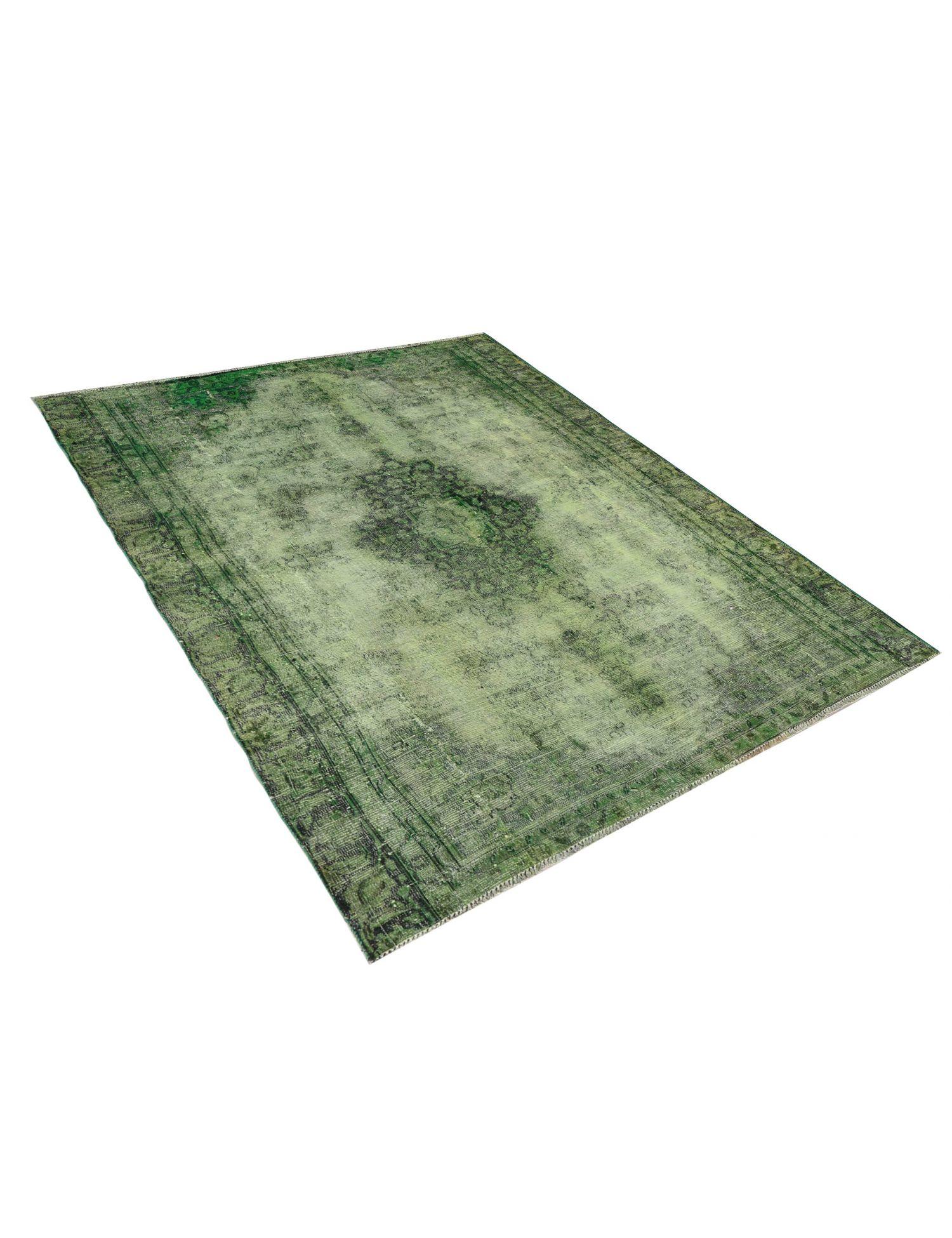 Vintage Teppich  grün <br/>250 x 180 cm