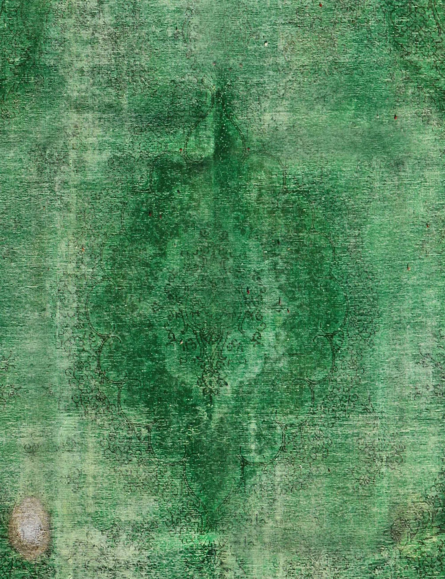 Tappeto Vintage  verde <br/>372 x 275 cm