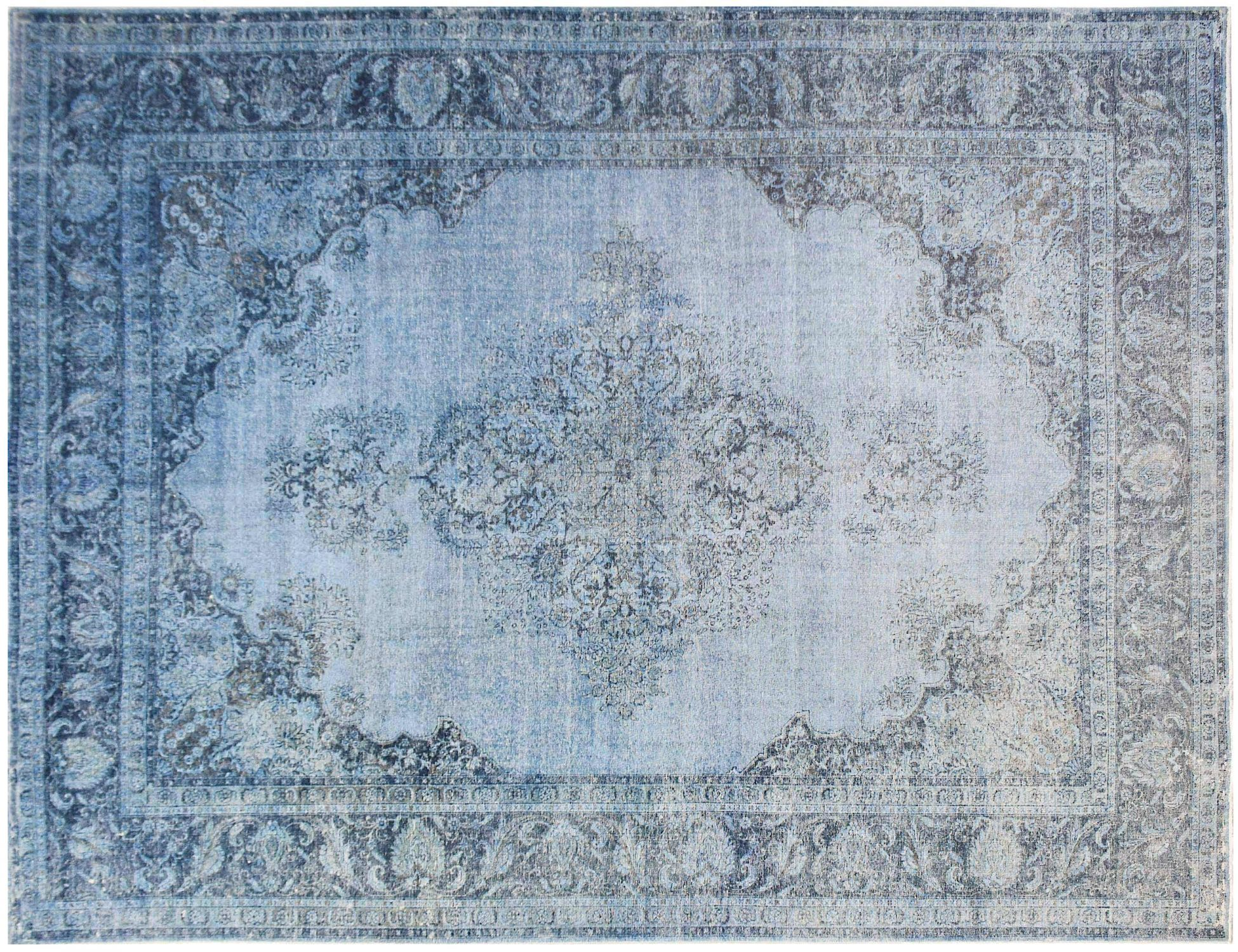 Tappeto Vintage  blu <br/>480 x 371 cm