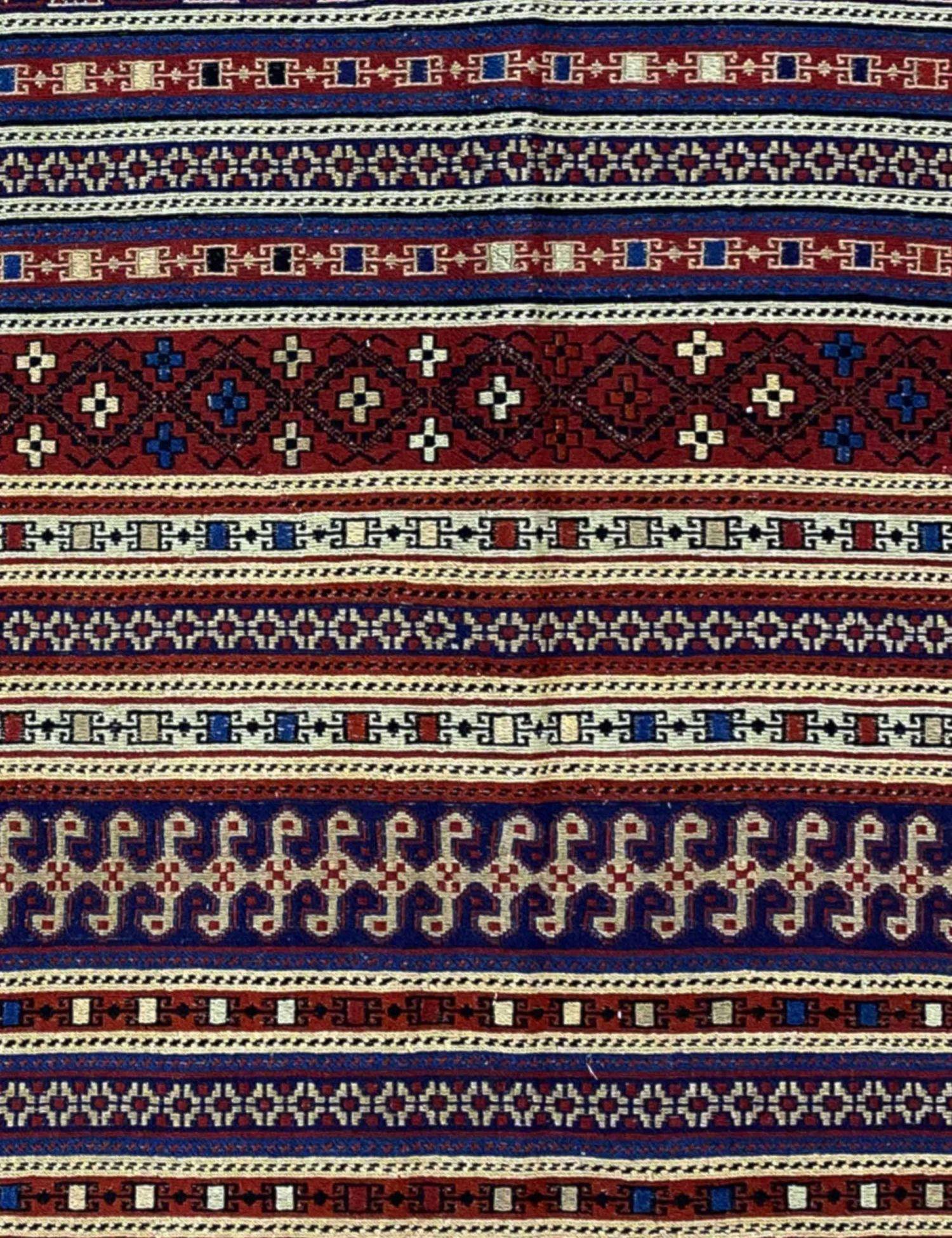 PERSIAN  KILIMS  blau <br/>194 x 125 cm