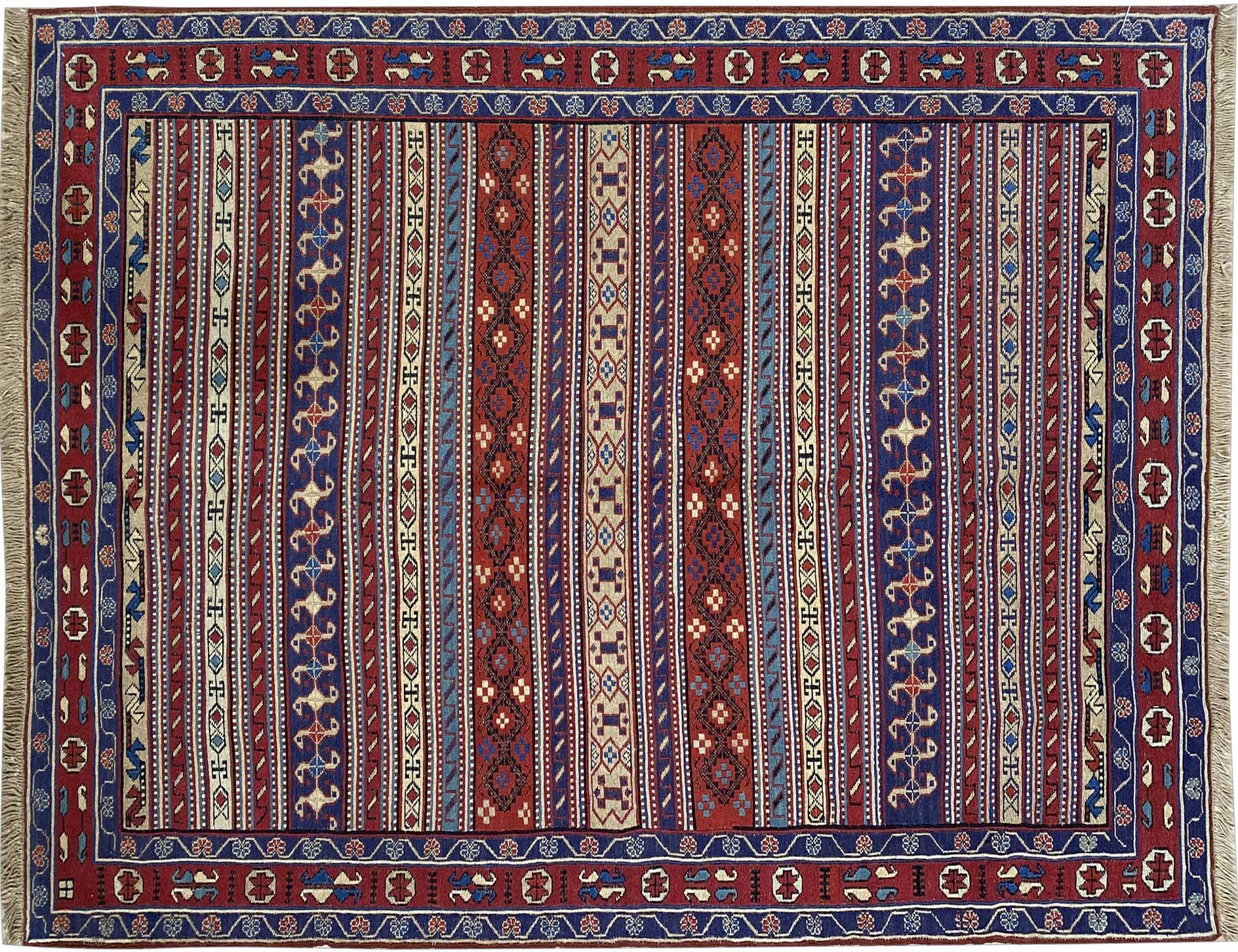 PERSIAN  KILIMS  blau <br/>190 x 123 cm