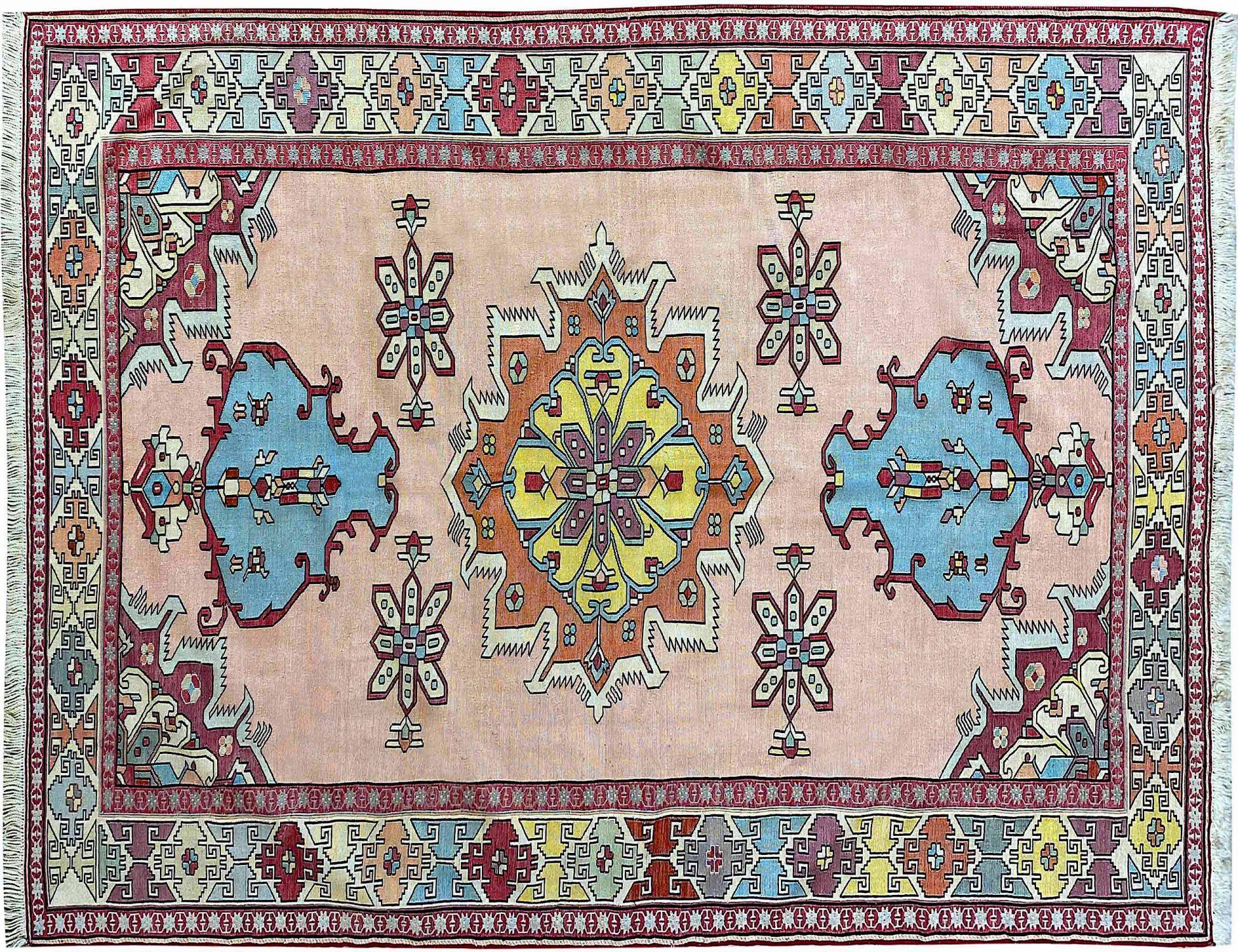 PERSIAN  KILIMS  rosa <br/>195 x 138 cm