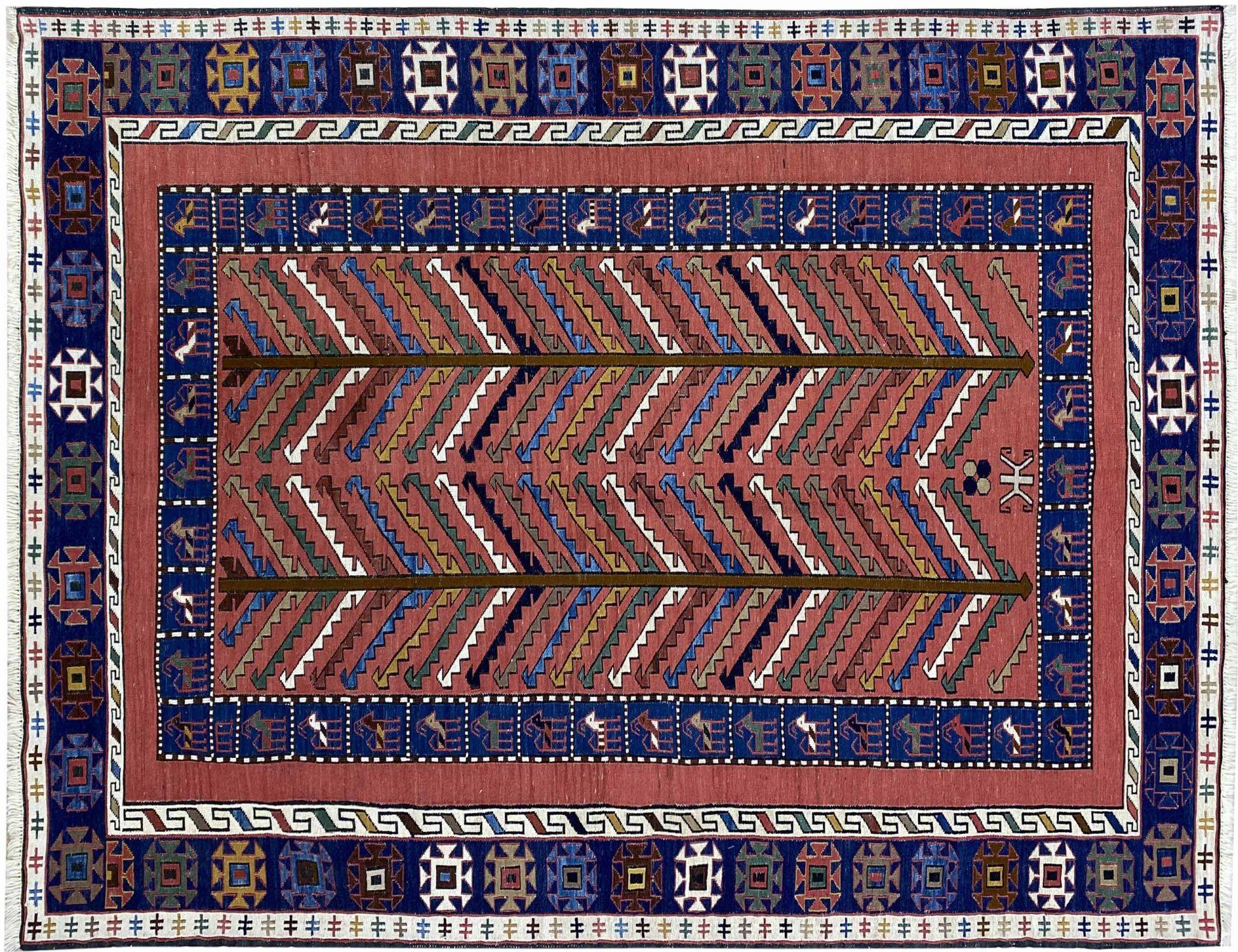 PERSIAN  KILIMS  mehrfarbig <br/>195 x 138 cm
