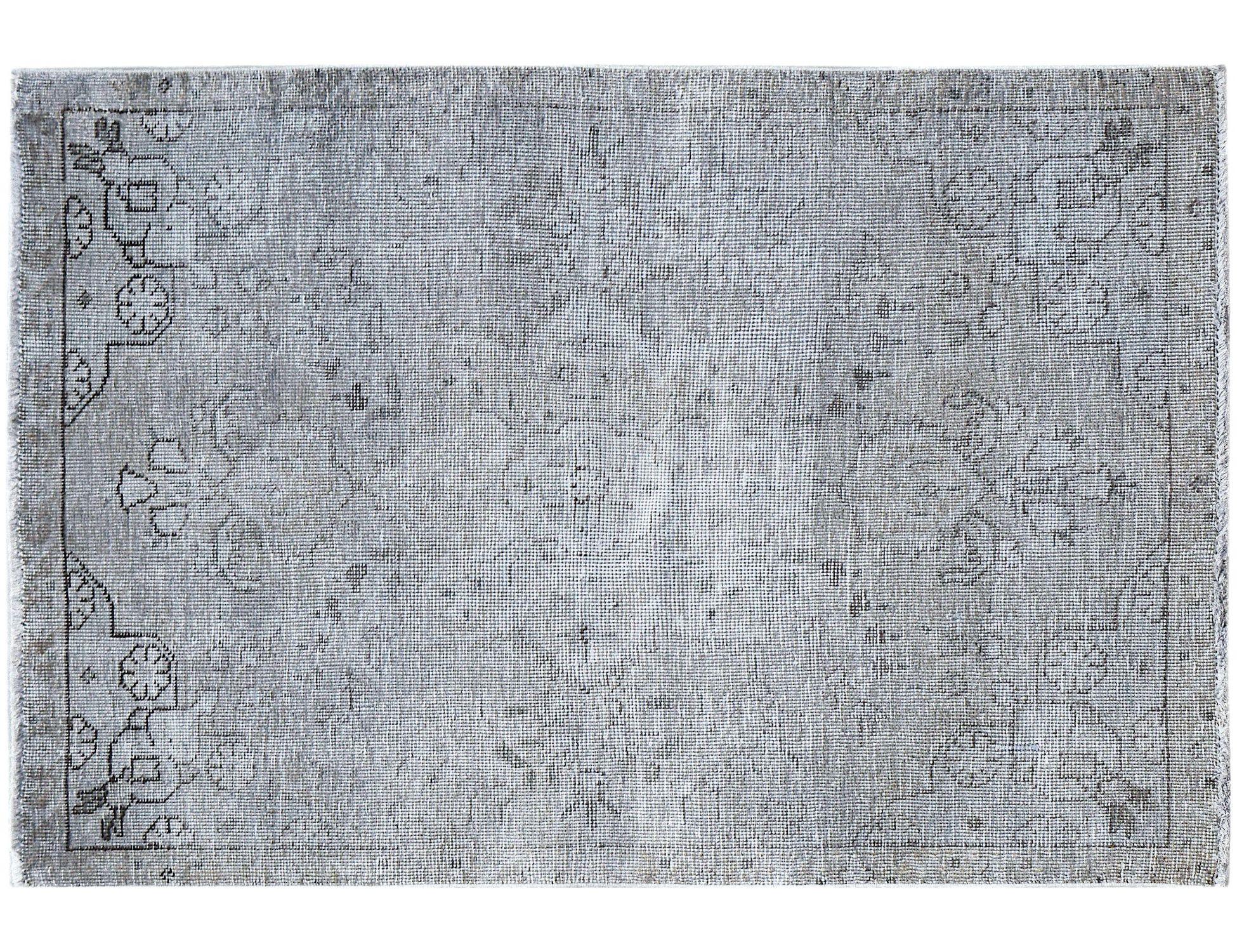 Tappeto Vintage  grigo <br/>146 x 93 cm