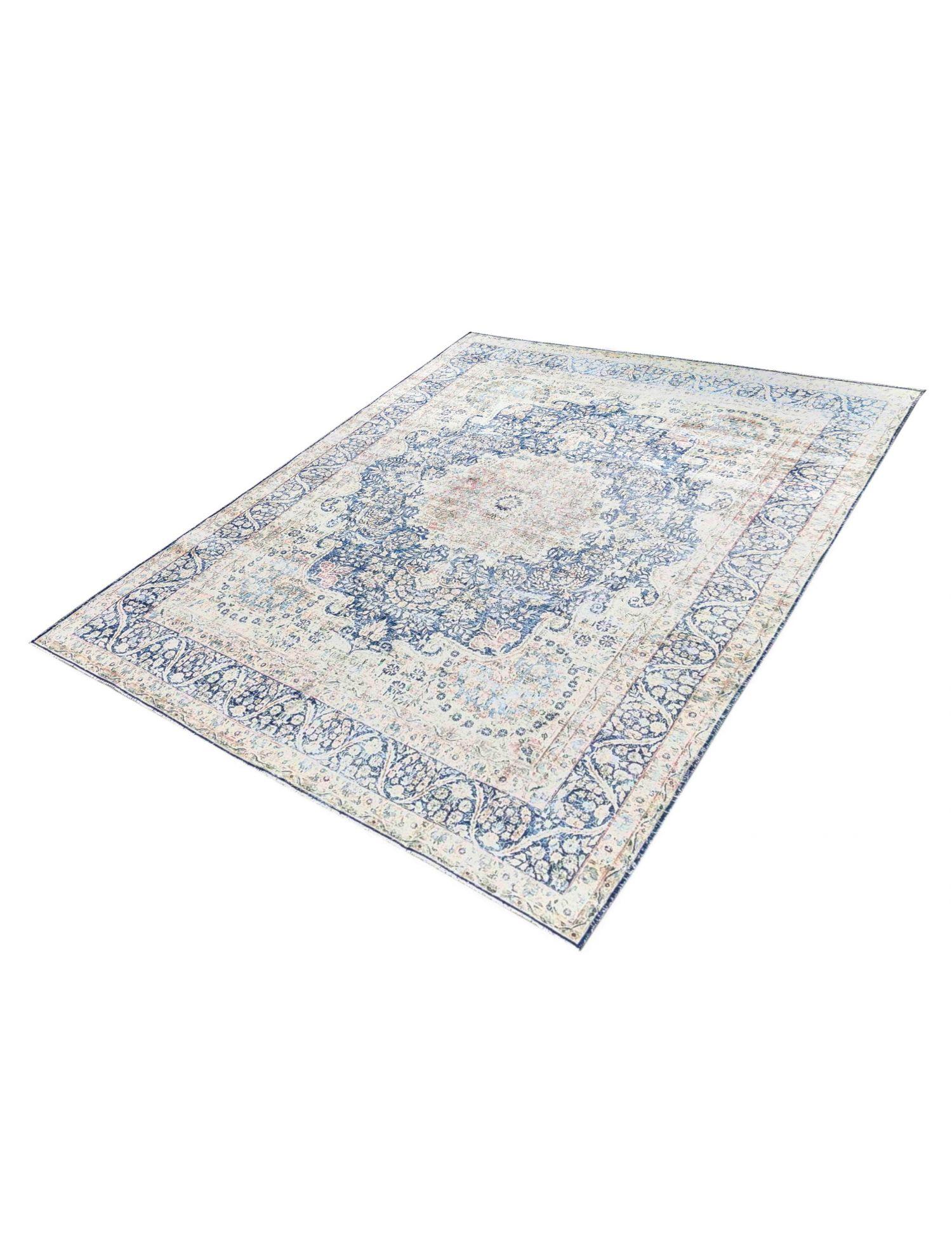 Retro Perserteppich  blau <br/>383 x 294 cm