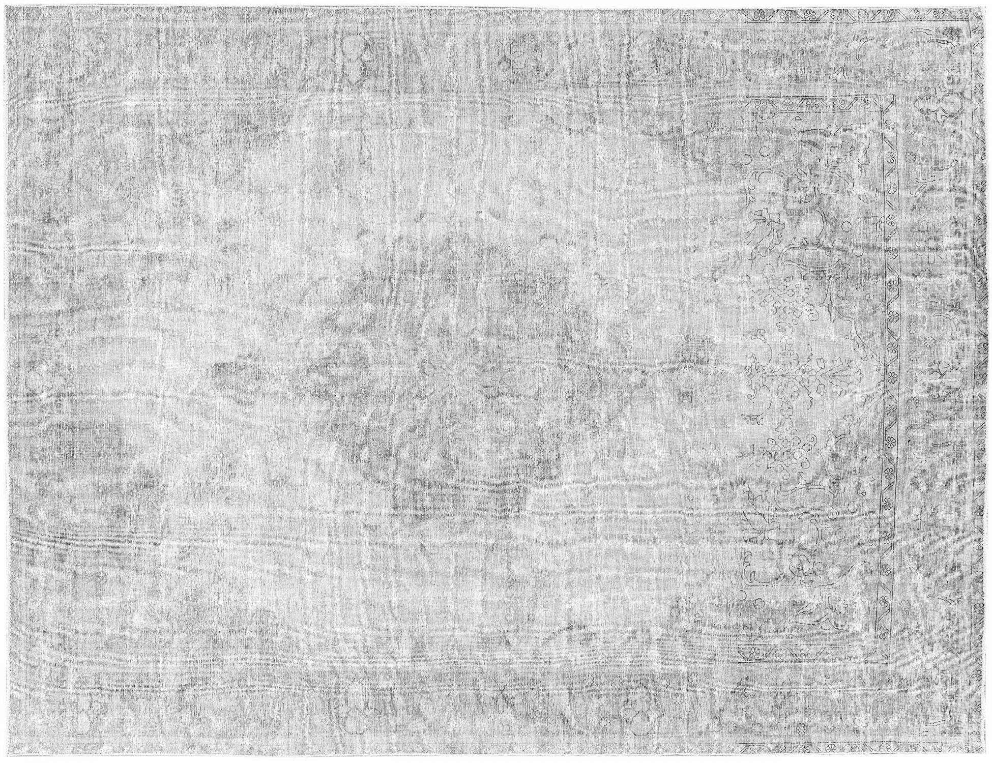 Vintage Perserteppich  grau <br/>373 x 287 cm