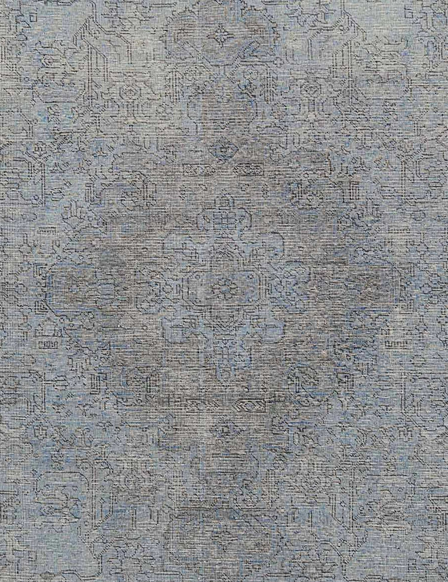 Tappeto Vintage  blu <br/>384 x 297 cm