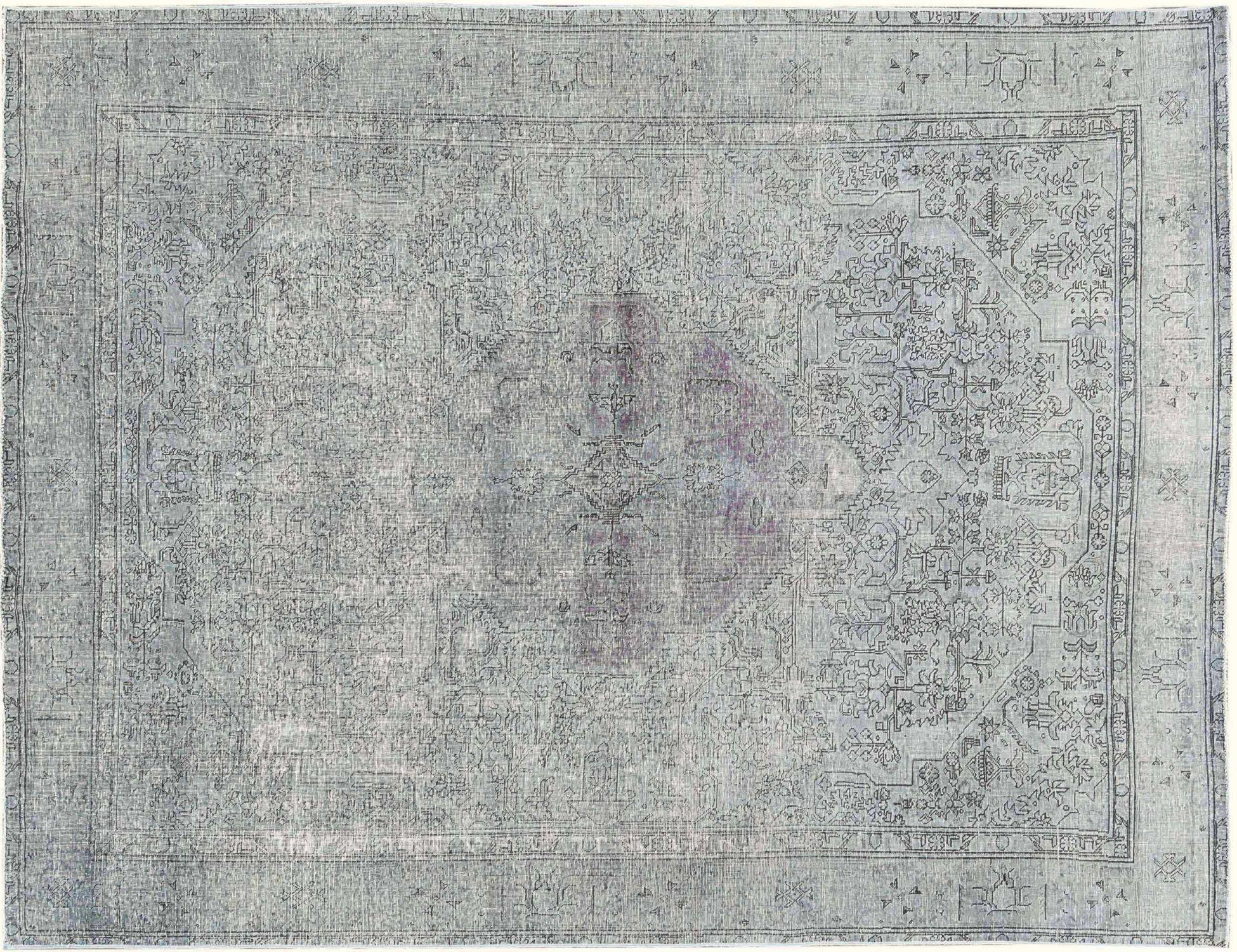 Vintage Perserteppich  grau <br/>368 x 286 cm