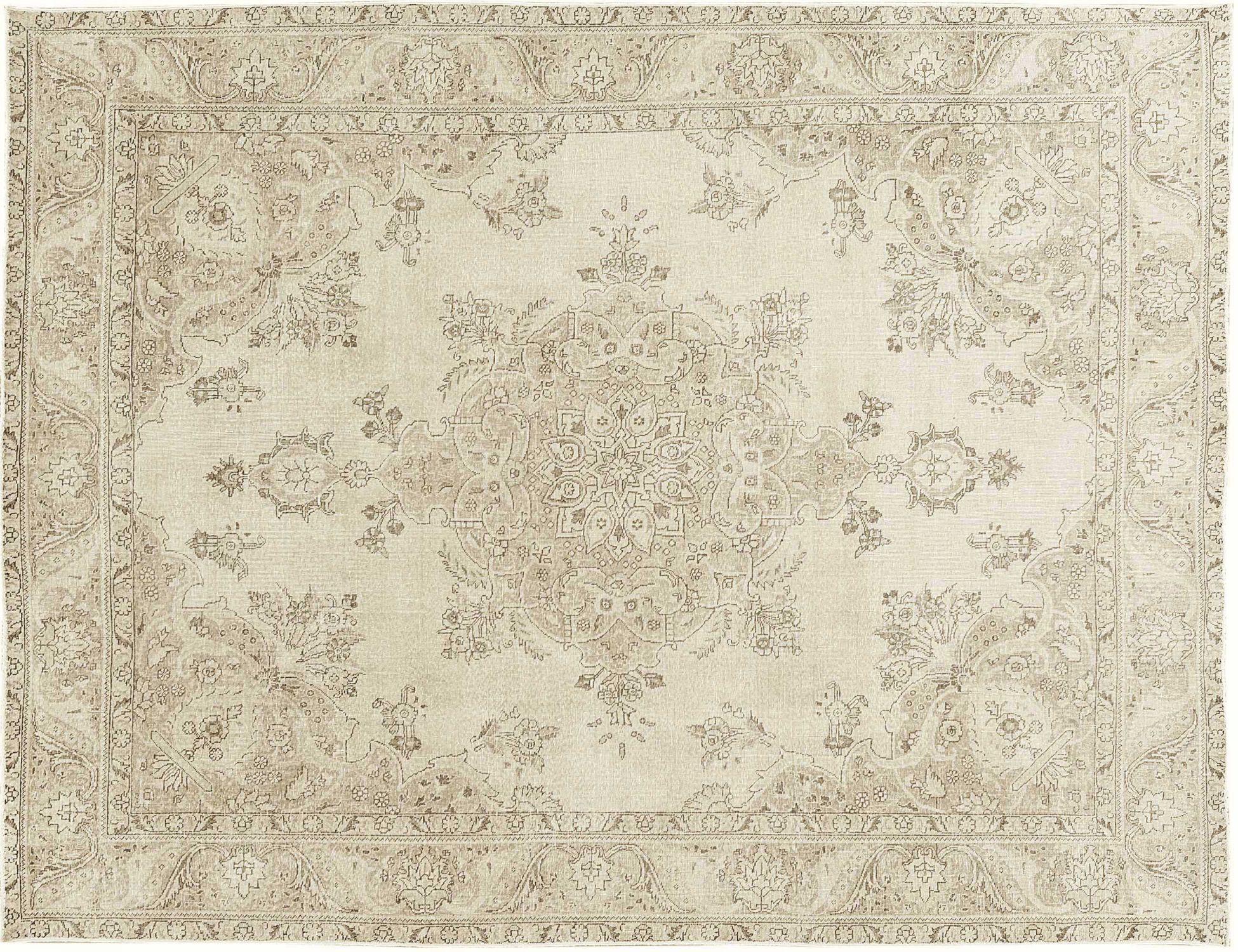 Vintage Perserteppich  beige <br/>382 x 292 cm