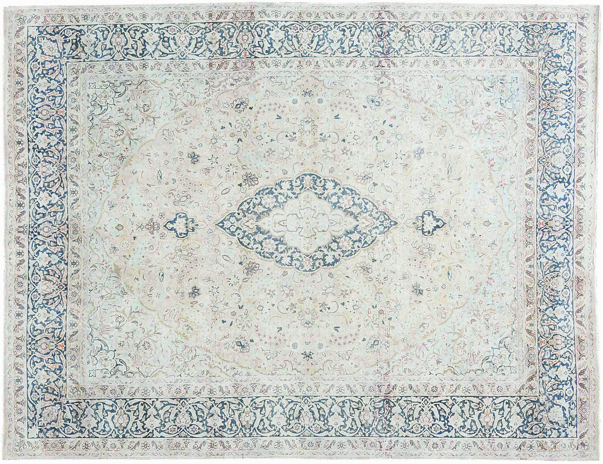 Vintage Perserteppich  blau <br/>391 x 302 cm
