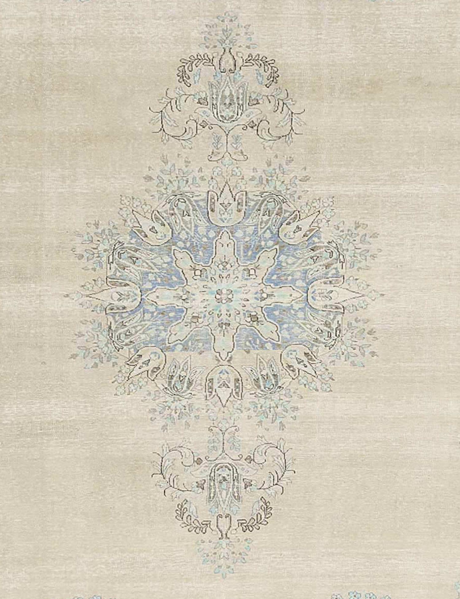 Vintage Perserteppich  blau <br/>384 x 268 cm