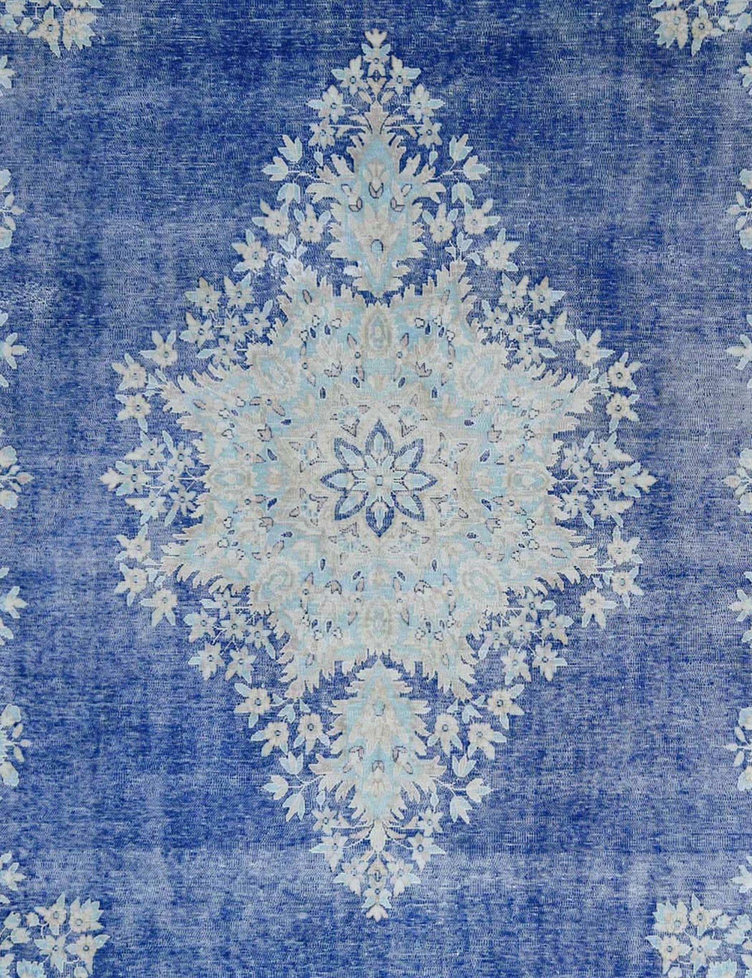 Tappeto Vintage  blu <br/>387 x 294 cm