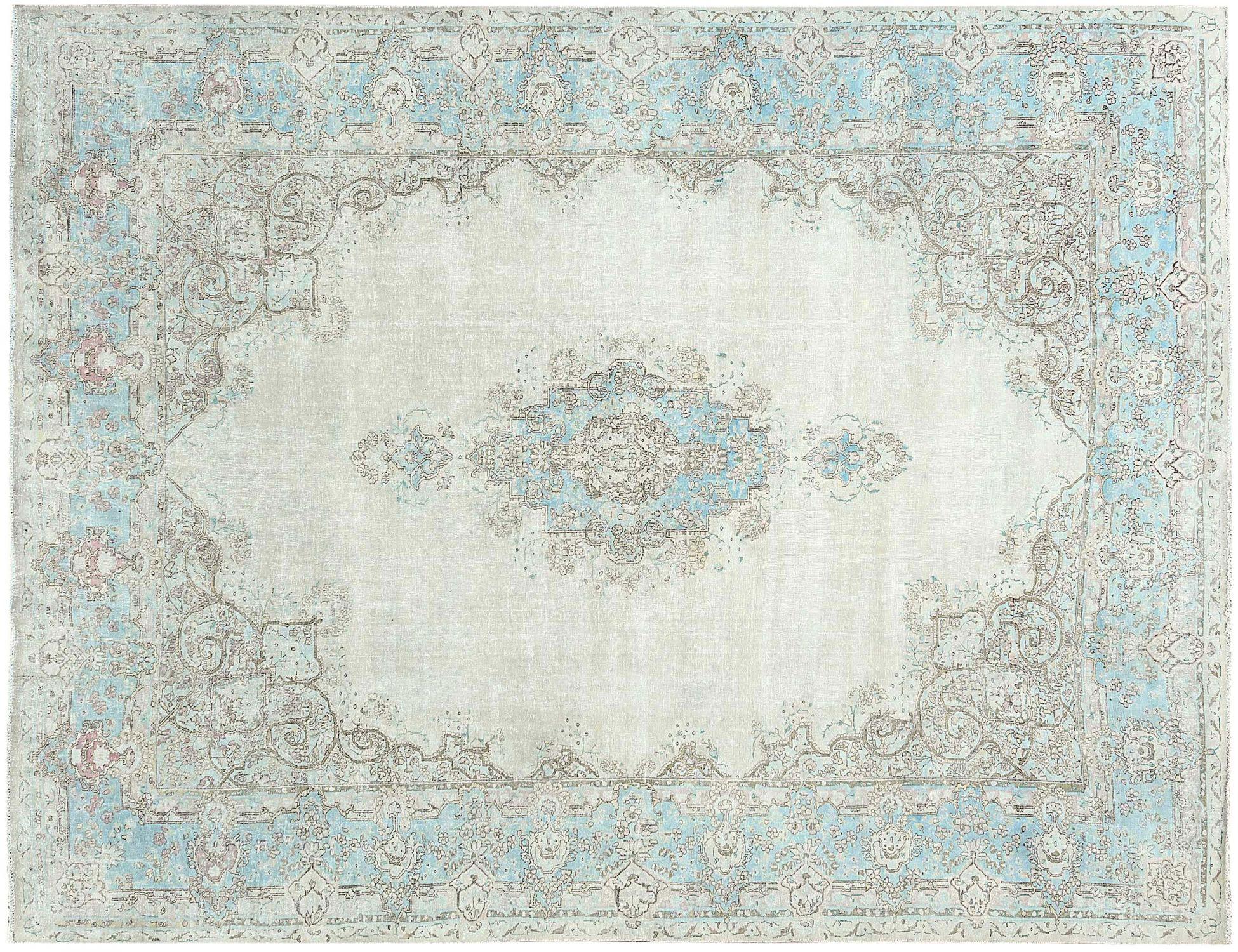 Tappeto Vintage  blu <br/>369 x 278 cm