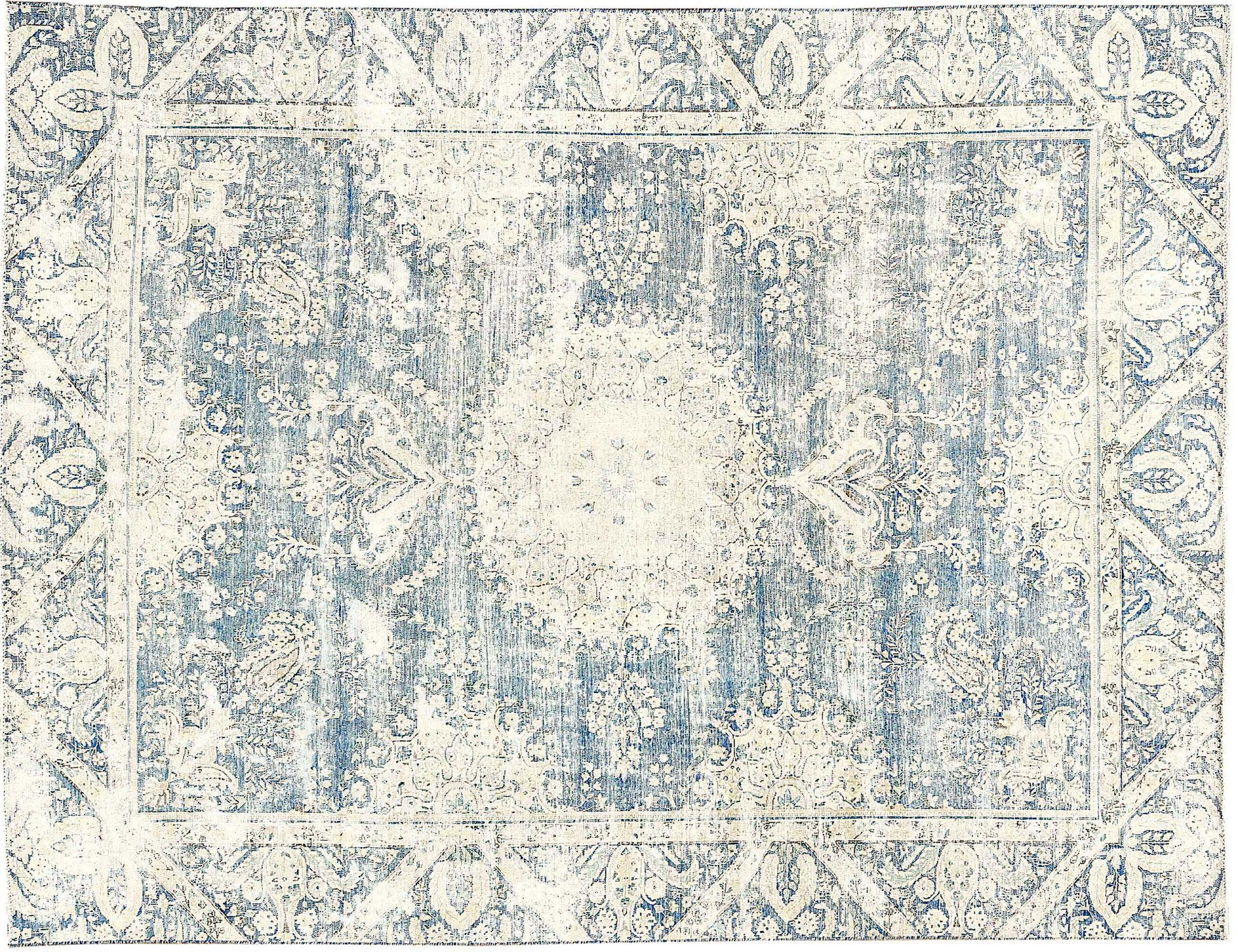 Tappeto Vintage  blu <br/>368 x 262 cm