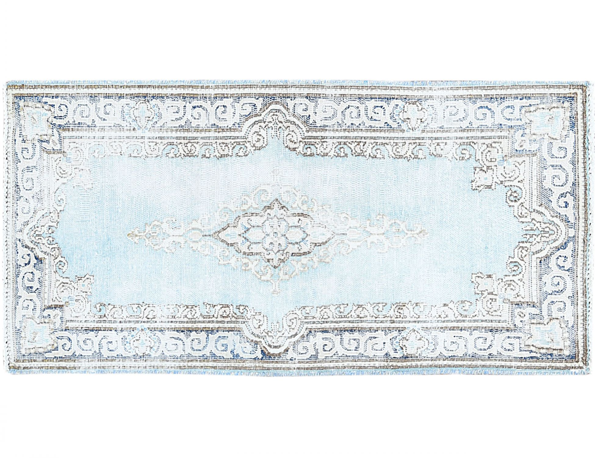Tappeto Vintage  blu <br/>114 x 57 cm