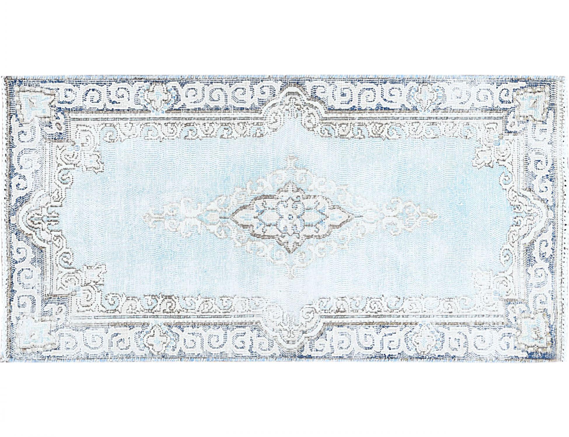 Tappeto Vintage  blu <br/>111 x 57 cm