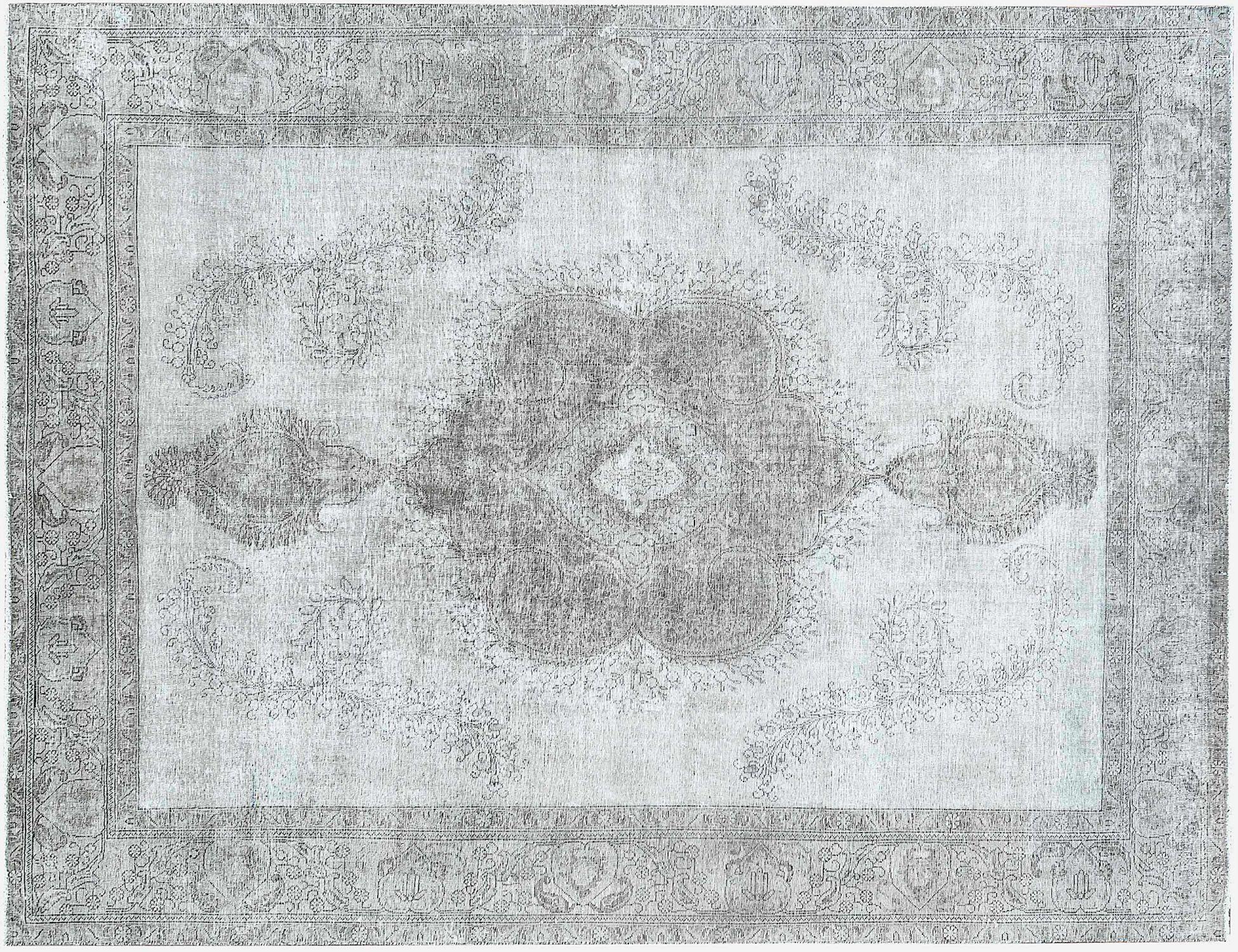 Tappeto Vintage  grigo <br/>388 x 286 cm