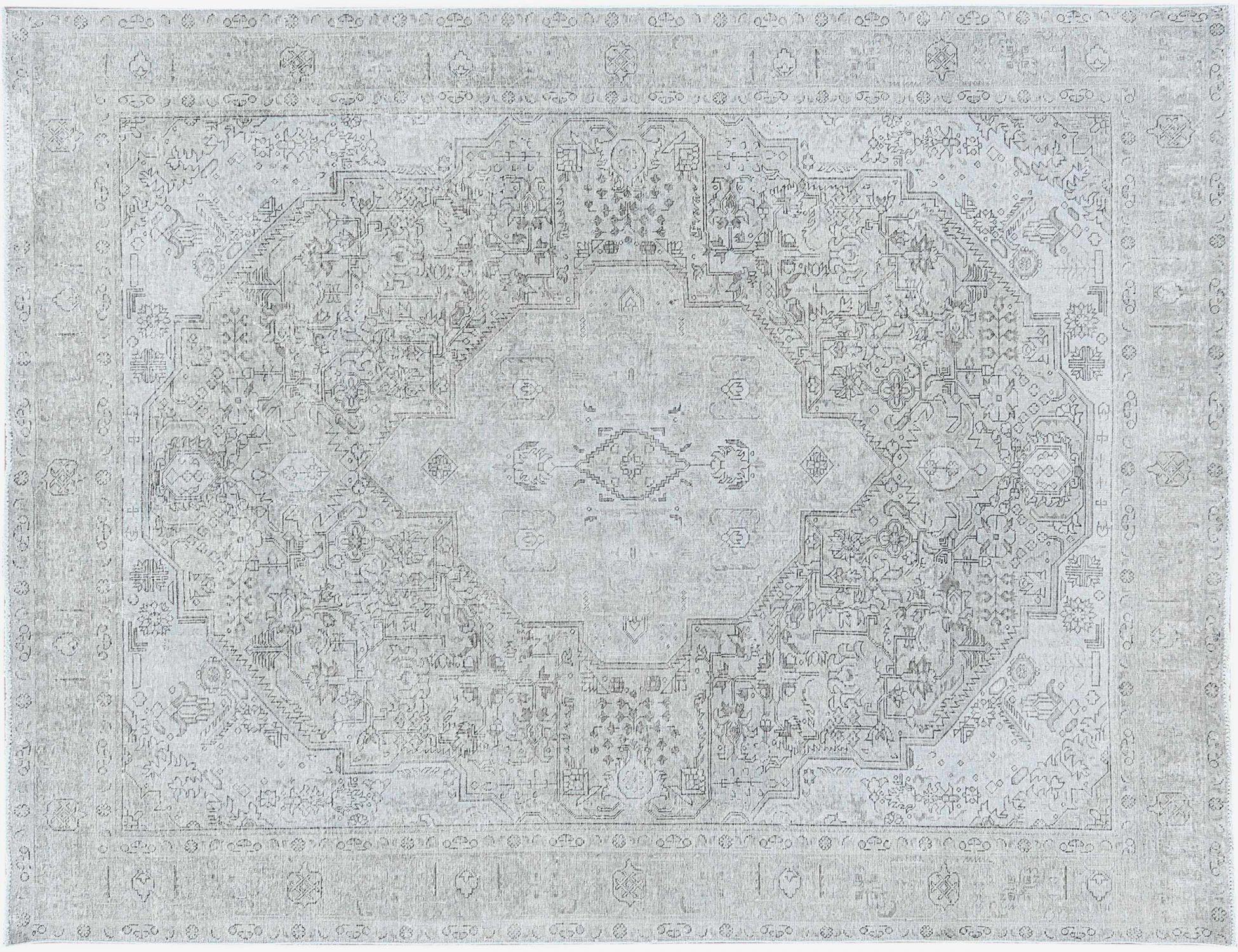 Tappeto Vintage  grigo <br/>363 x 285 cm