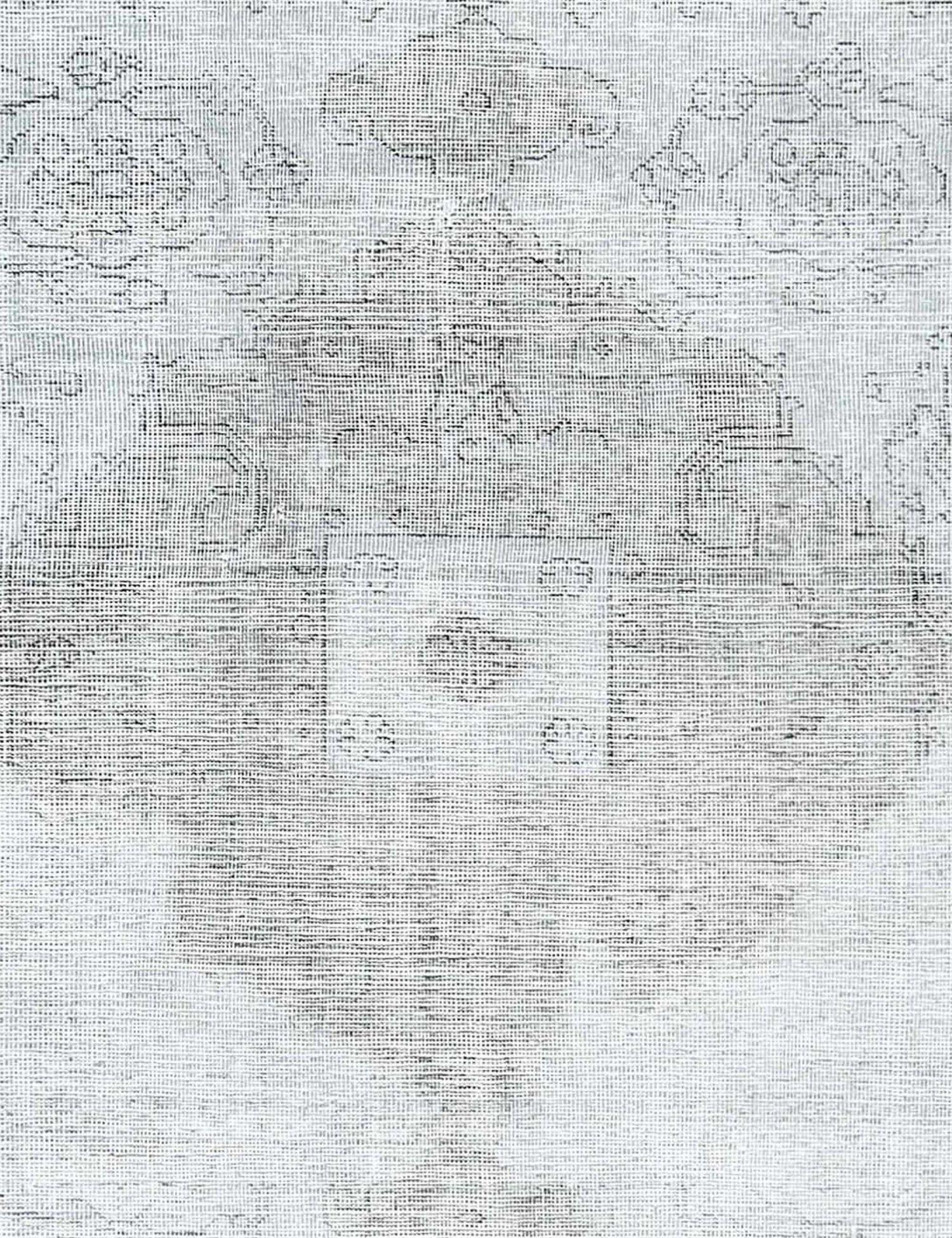 Tappeto Vintage  grigo <br/>280 x 194 cm