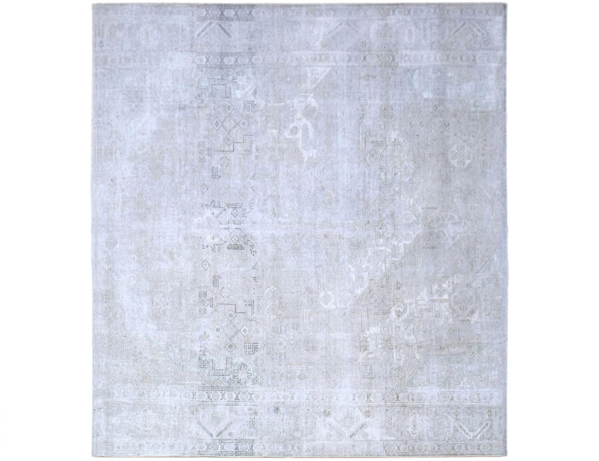 Vintage Perserteppich  grau <br/>303 x 303 cm