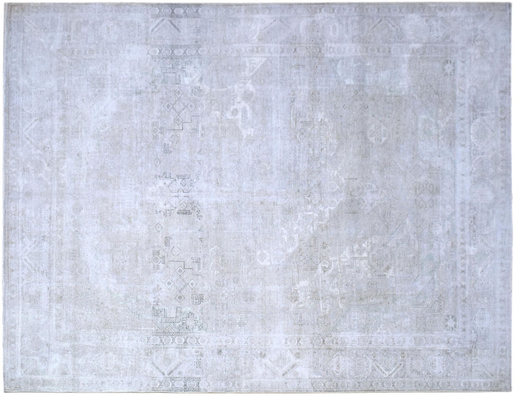 Tappeto Vintage  grigo <br/>386 x 303 cm