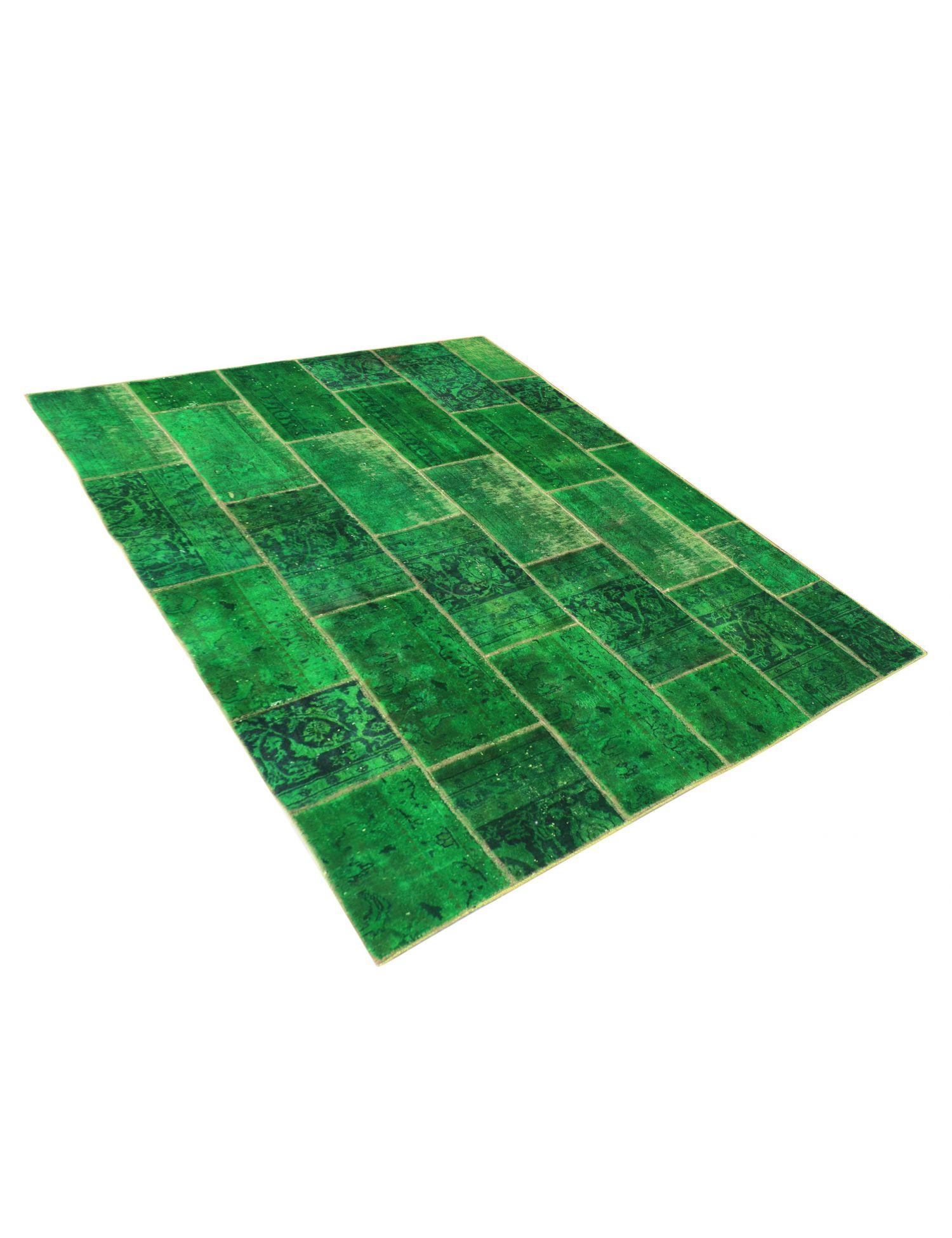 Alfombras Persas Patchwork  verde <br/>240 x 170 cm