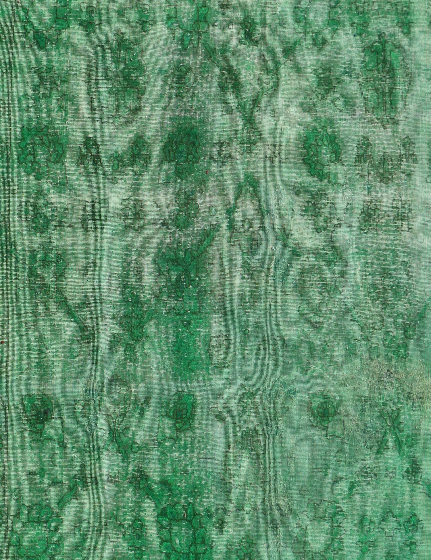 Tappeto Vintage  verde <br/>307 x 228 cm