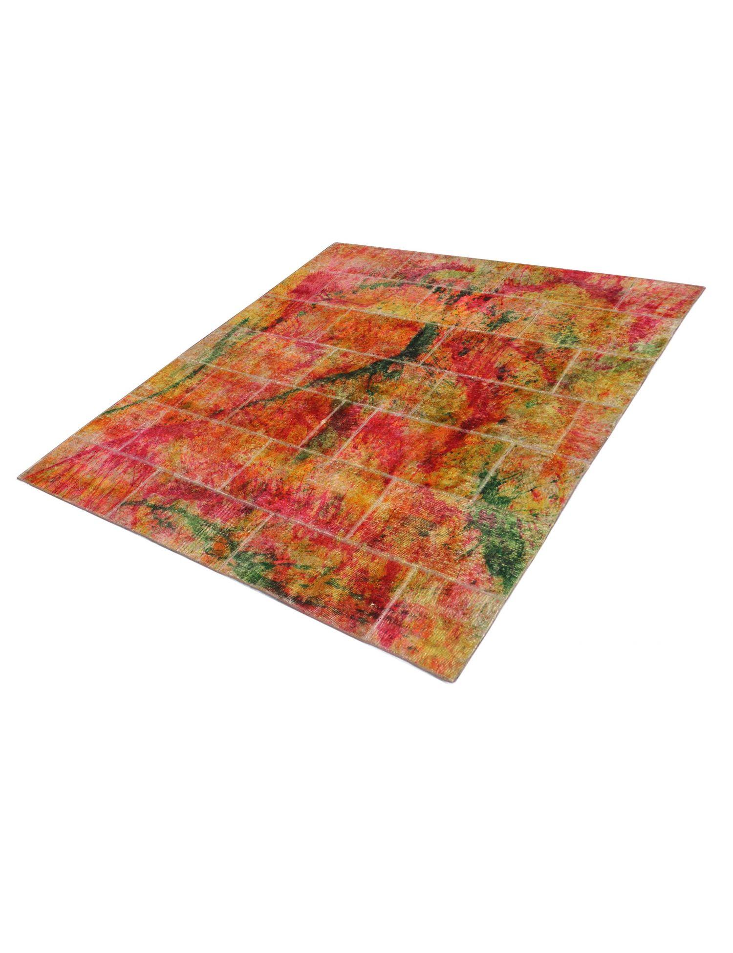 Alfombras Persas Patchwork  multicolor <br/>210 x 210 cm