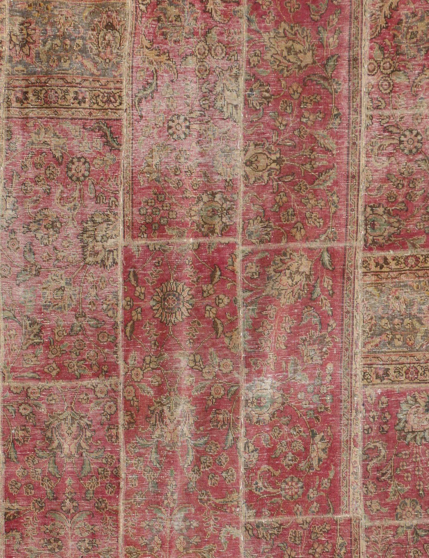 Alfombras Persas Patchwork  rojo <br/>280 x 200 cm