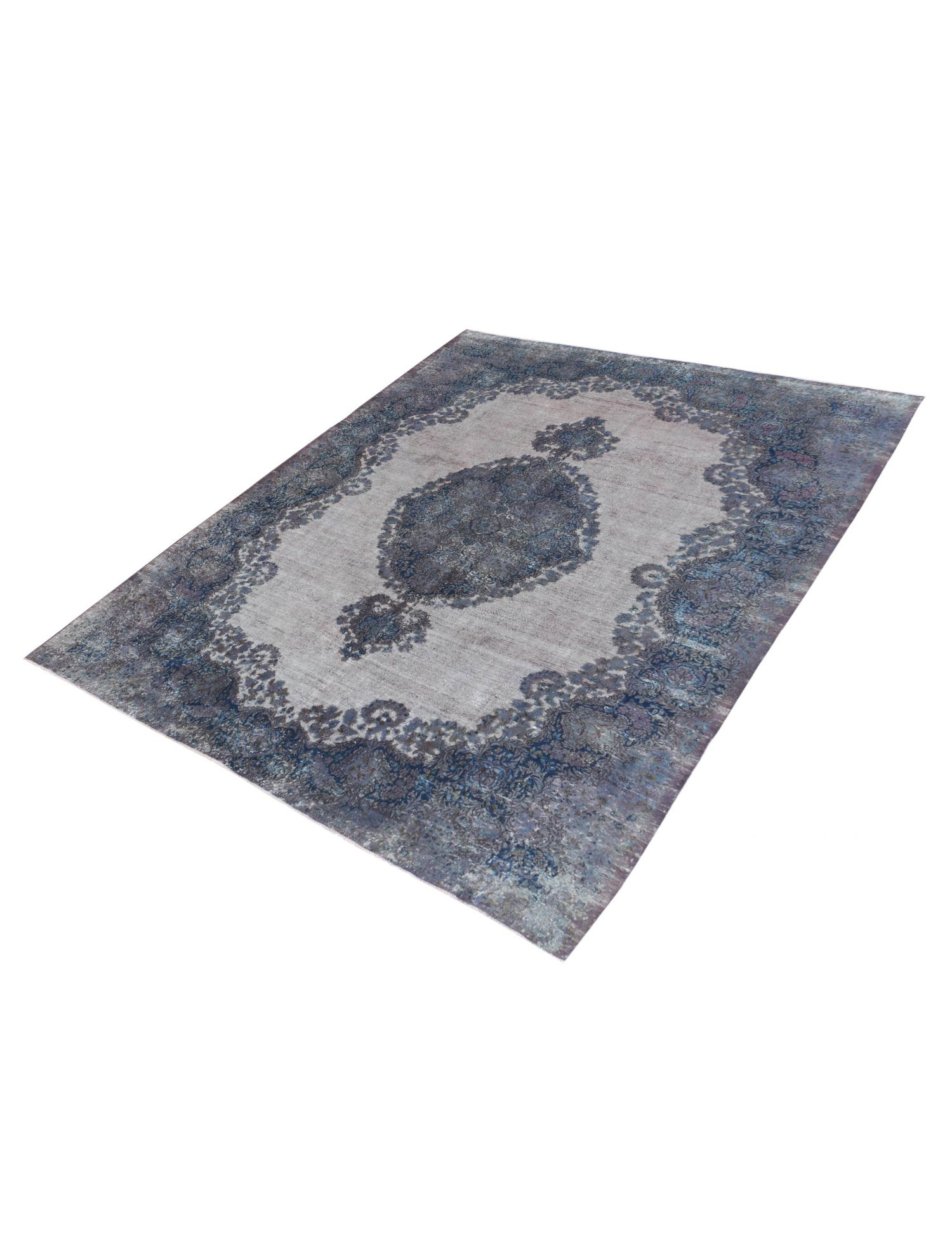 Persischer Vintage Teppich  blau <br/>383 x 296 cm
