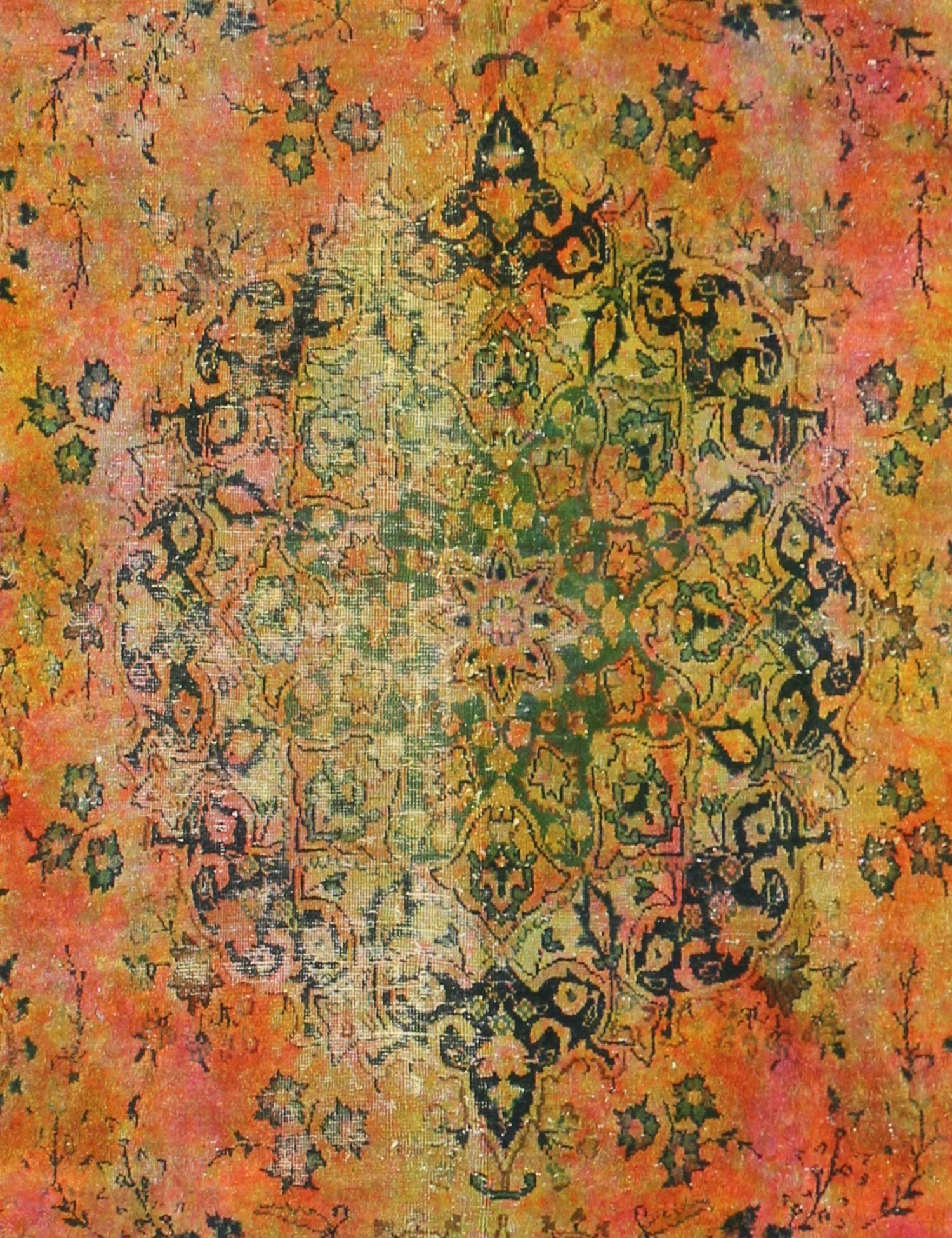 Tappeto vintage  giallo <br/>333 x 240 cm