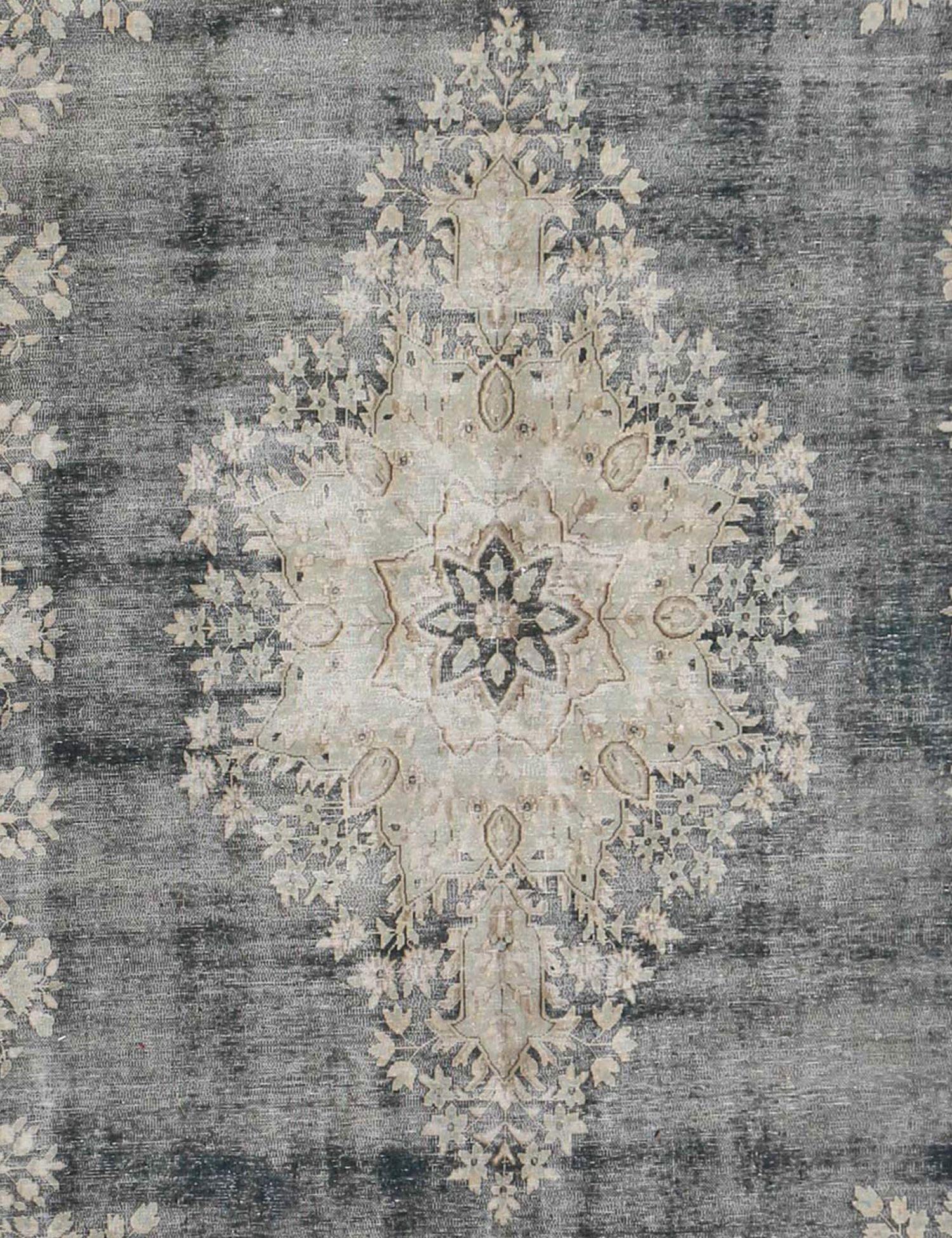 Persischer Vintage Teppich  schwarz <br/>410 x 290 cm