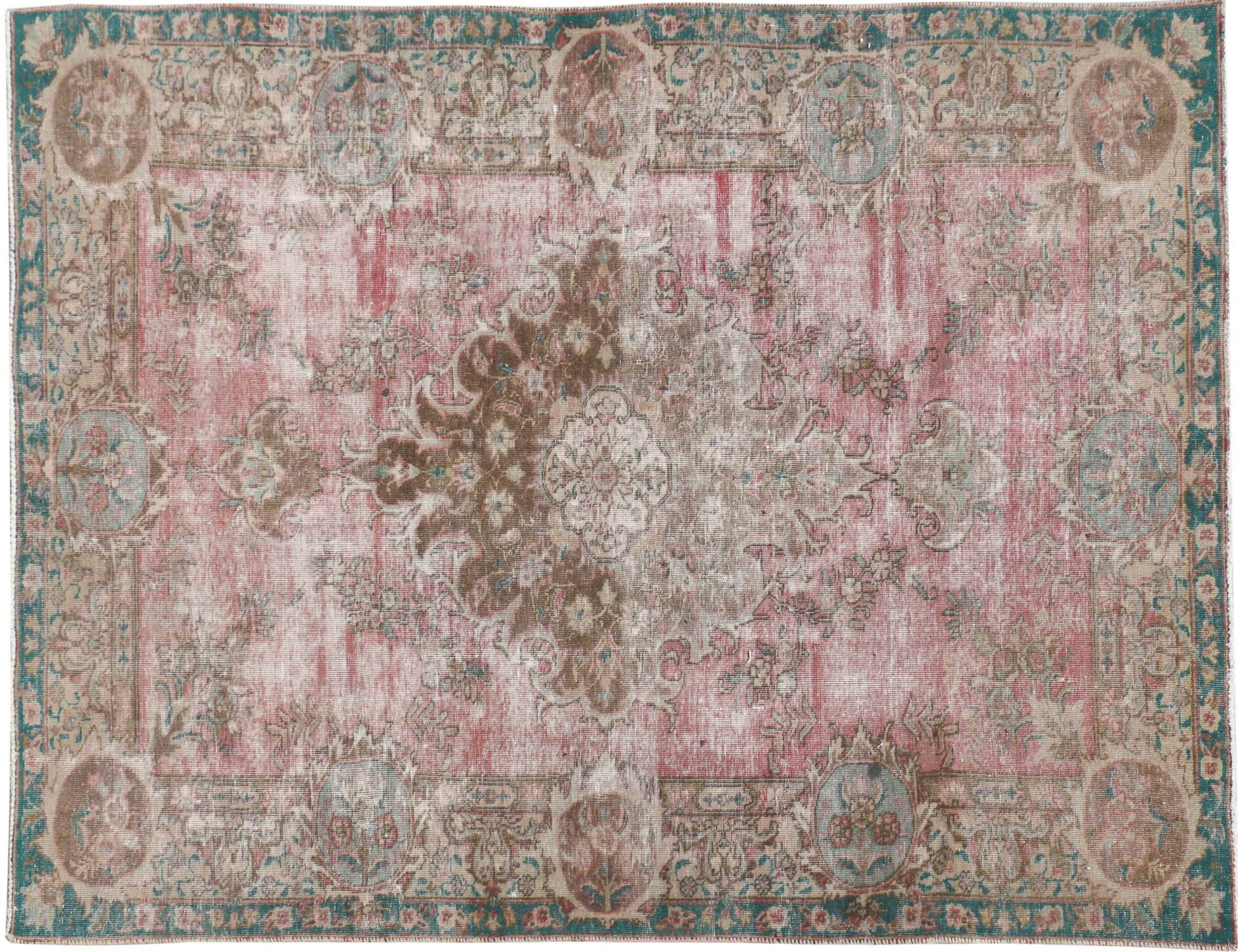 Tappeto Vintage  rosa <br/>270 x 170 cm