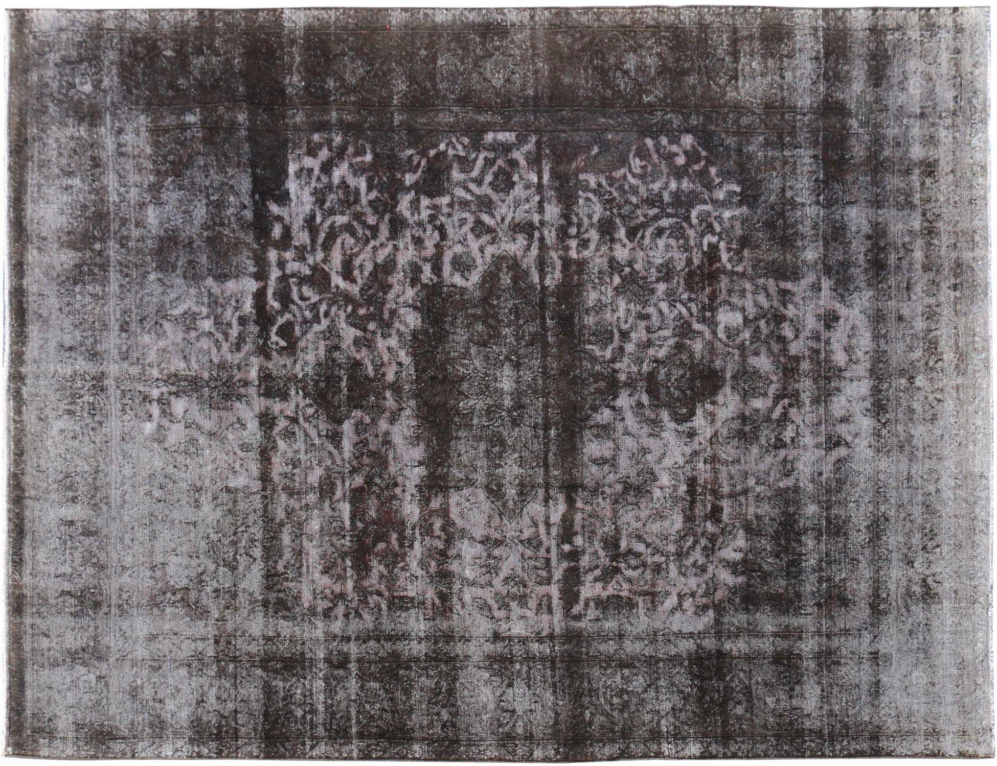 Persischer Vintage Teppich  schwarz <br/>353 x 260 cm