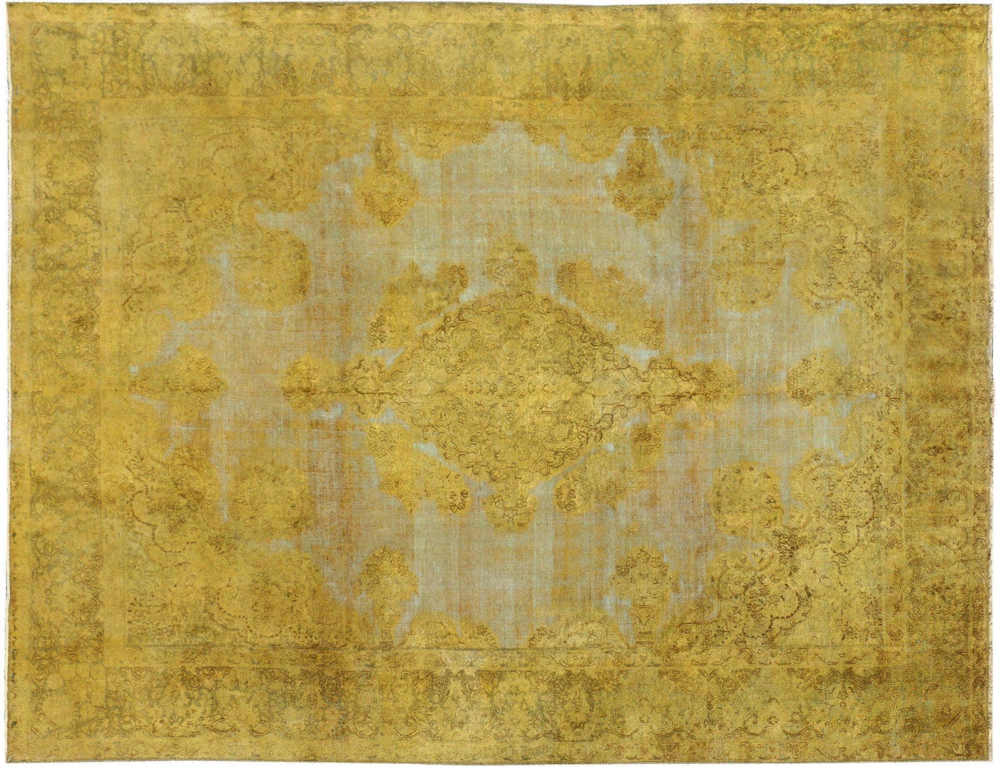 Tappeto Vintage  giallo <br/>389 x 292 cm